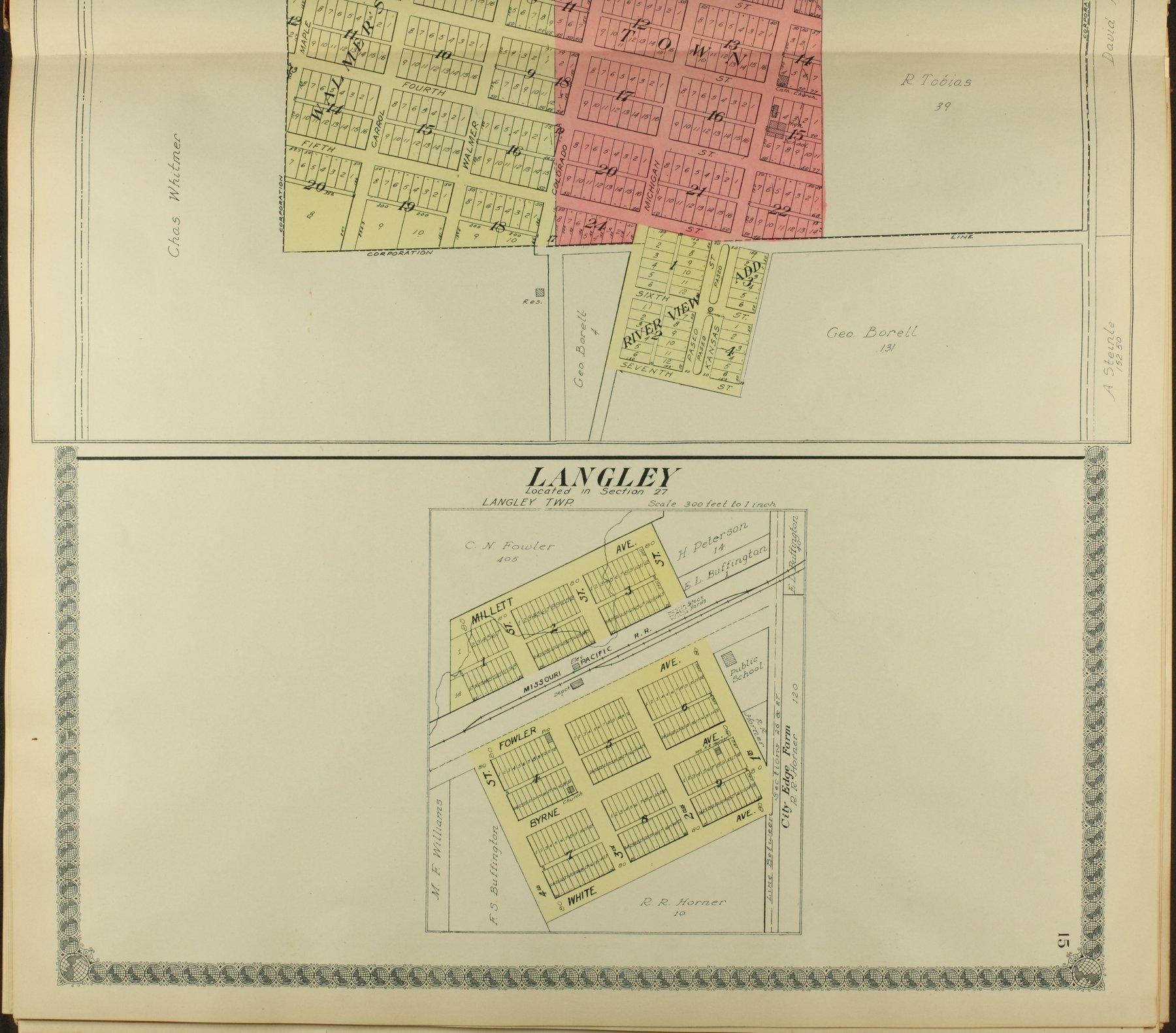 Standard atlas of Ellsworth County, Kansas - 15