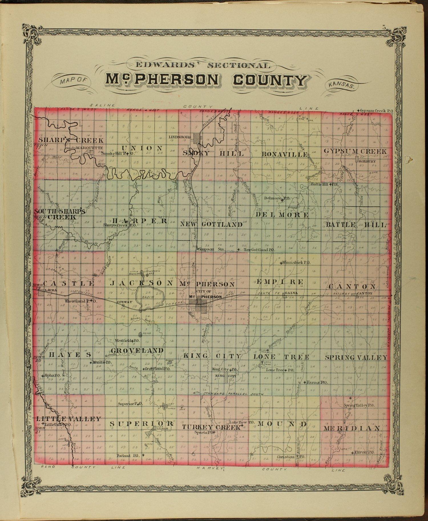Edwards' atlas of McPherson County, Kansas - 5