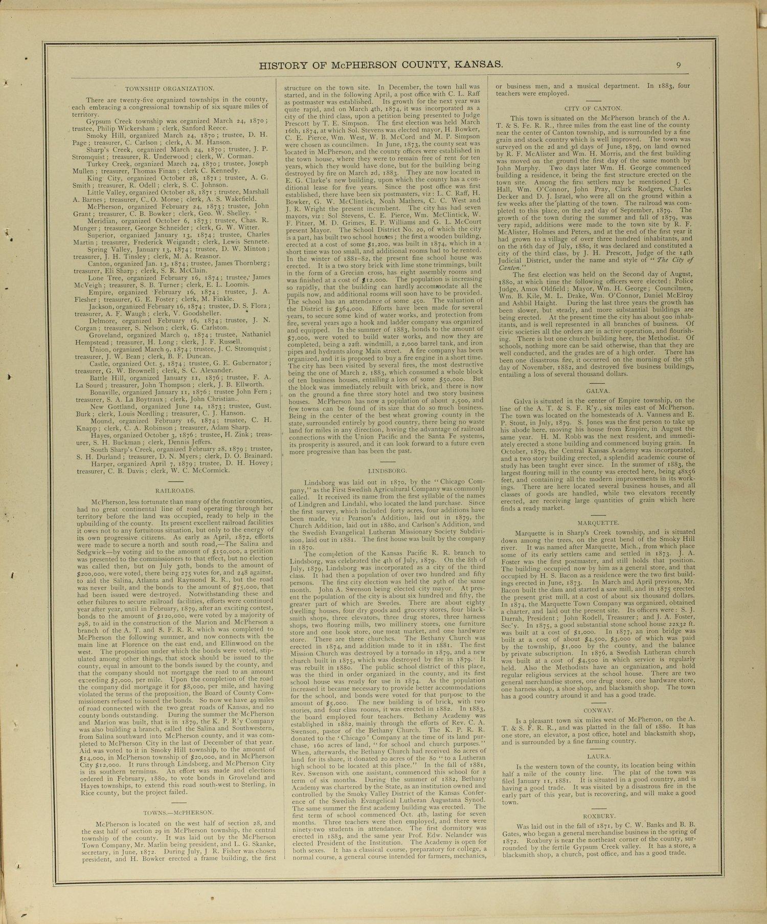 Edwards' atlas of McPherson County, Kansas - 9