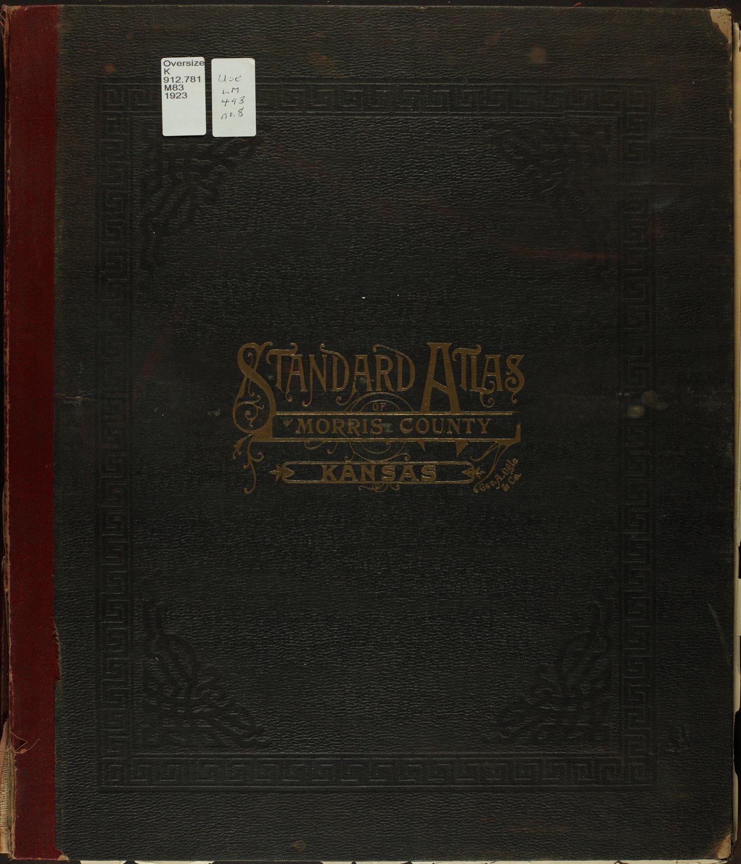 Standard atlas of Morris County, Kansas - Front Cover
