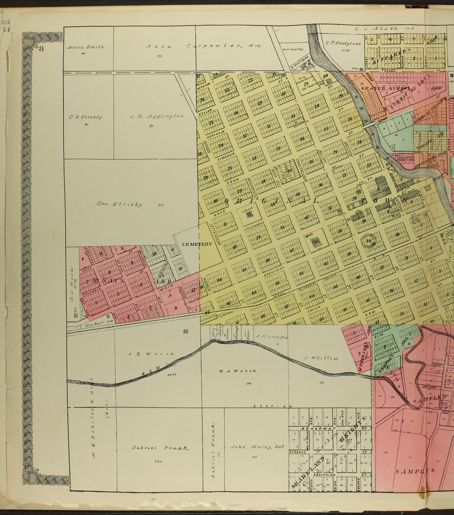 Standard atlas of Morris County, Kansas - 8