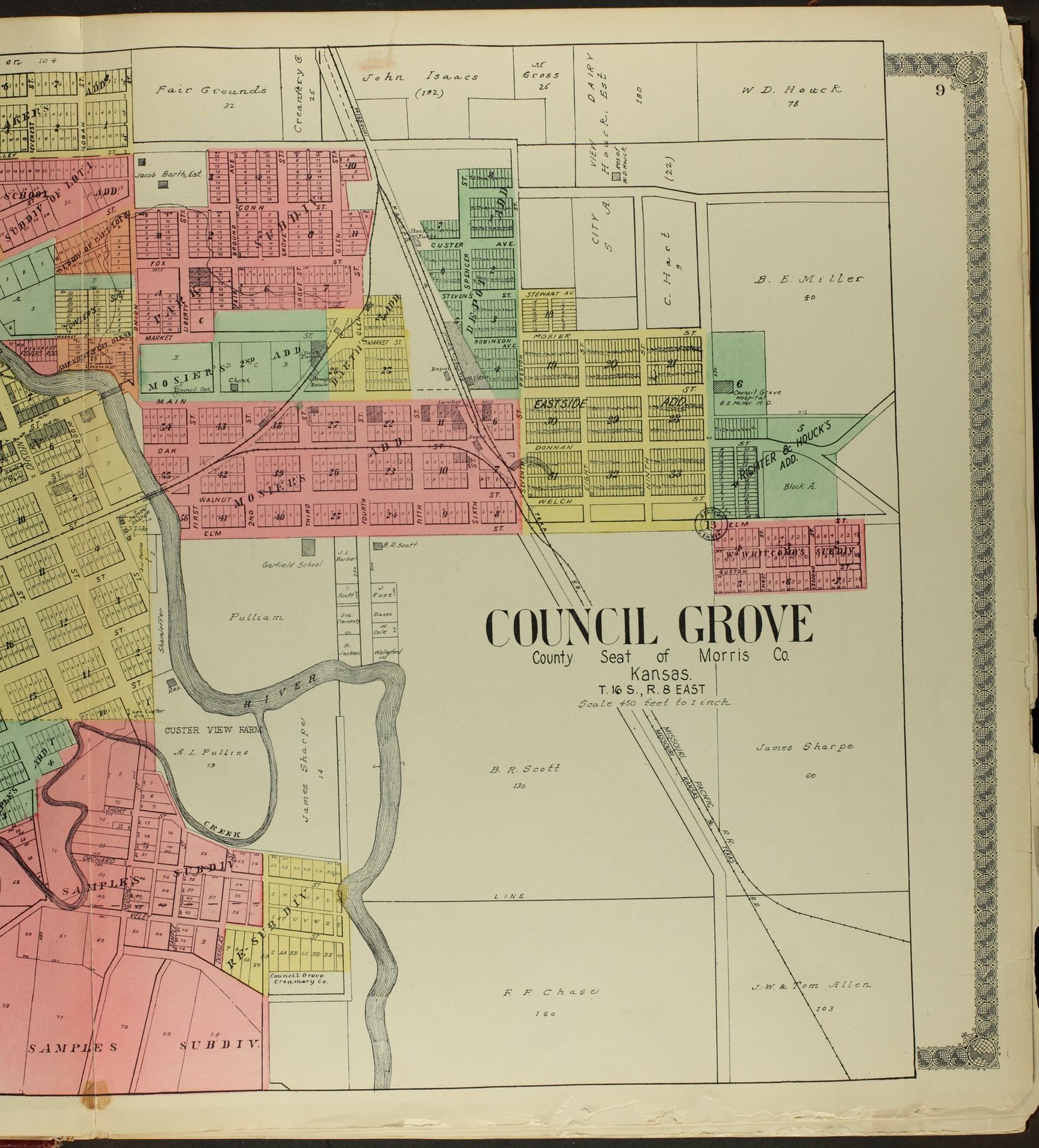 Standard atlas of Morris County, Kansas - 9