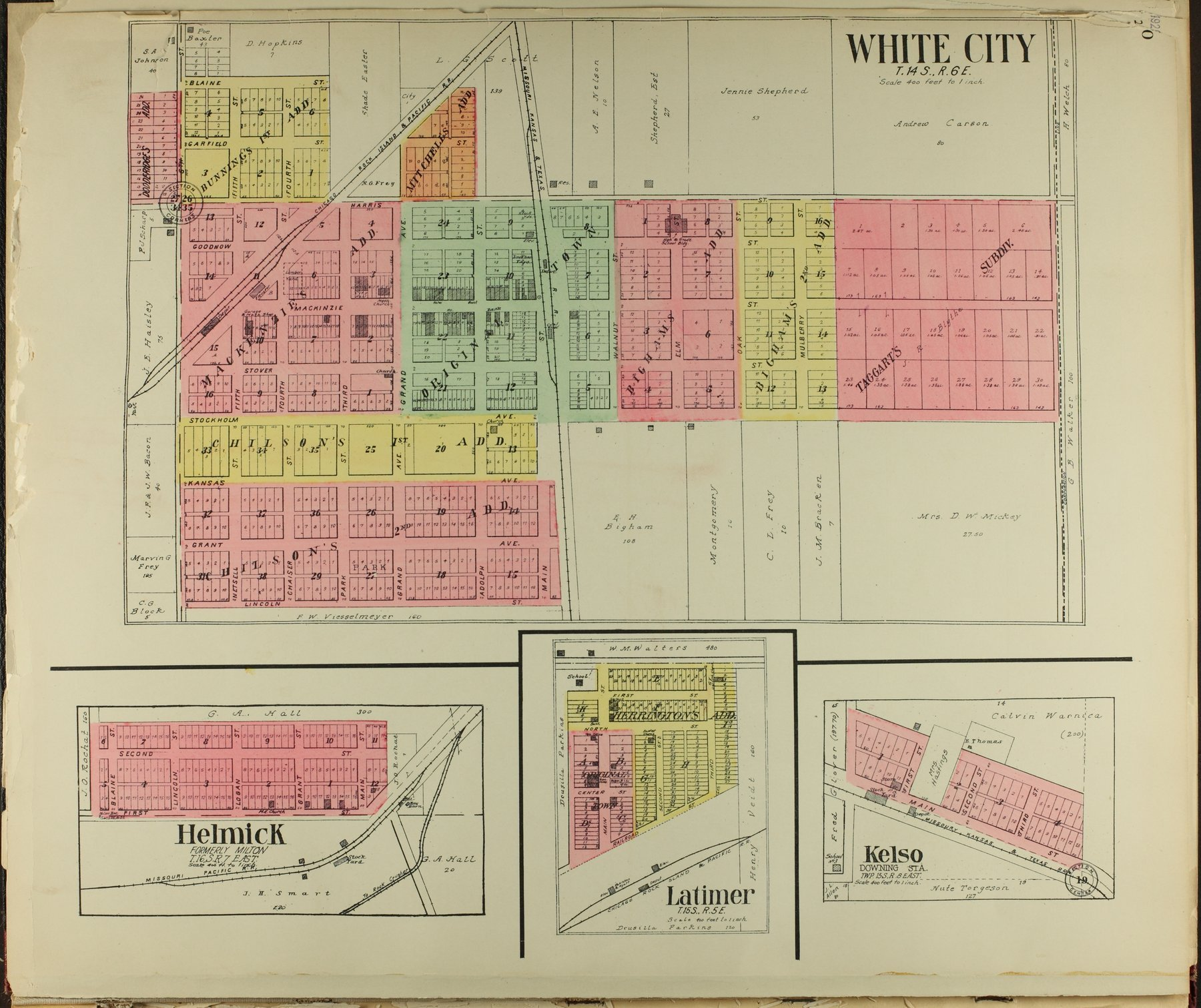 Standard atlas of Morris County, Kansas - 10