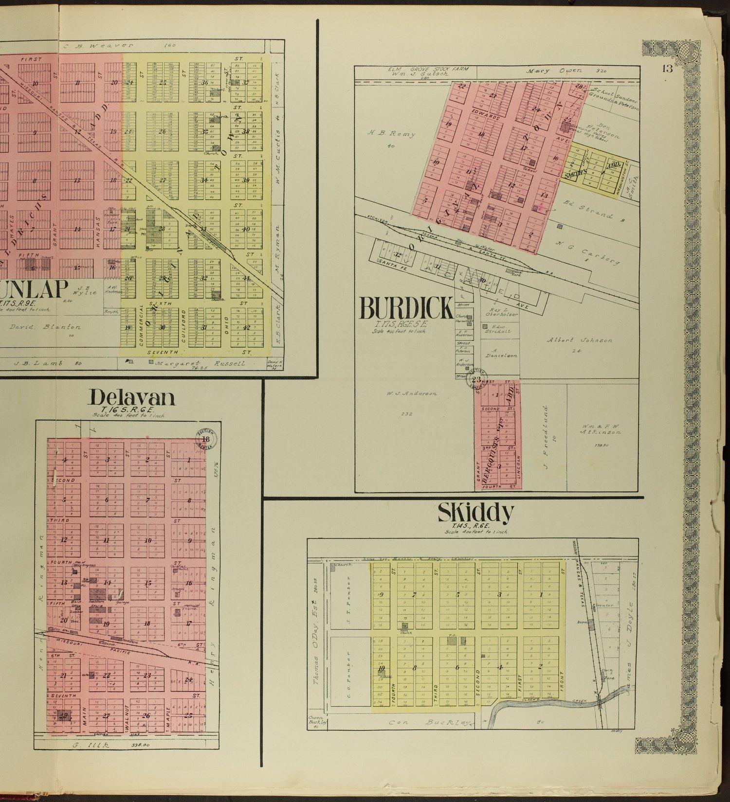Standard atlas of Morris County, Kansas - 13