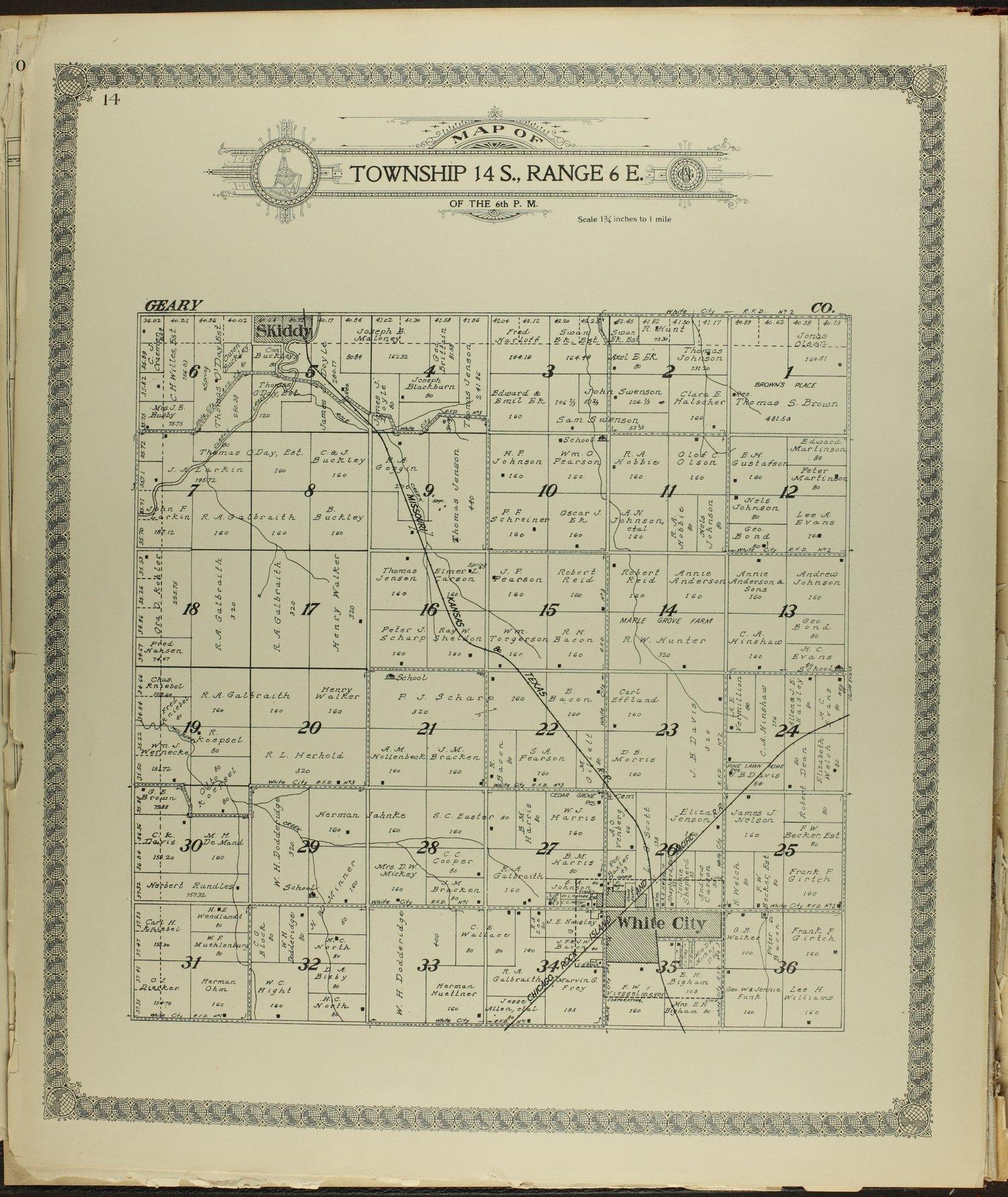Standard atlas of Morris County, Kansas - 14