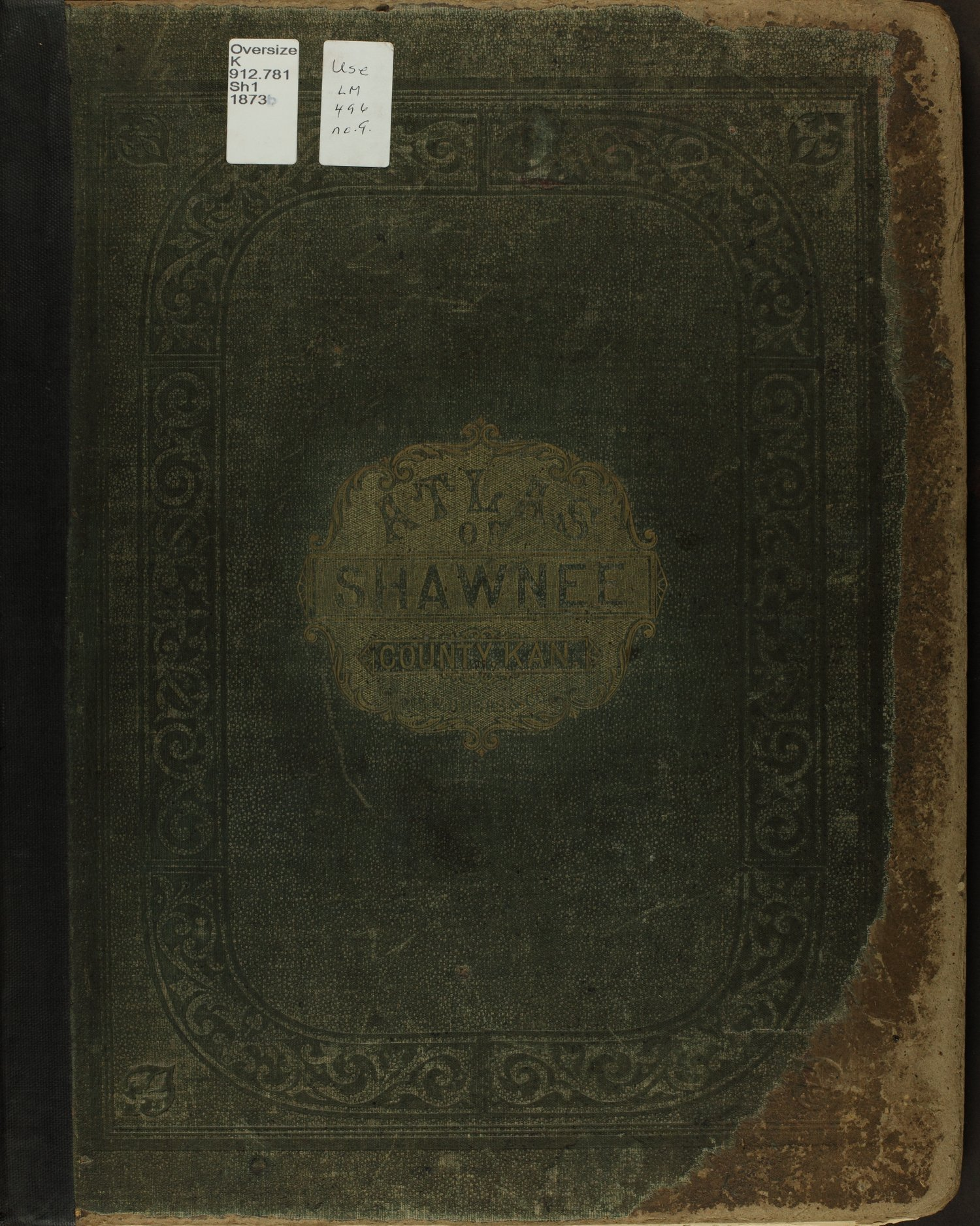 Atlas of Shawnee County, Kansas - Front Cover