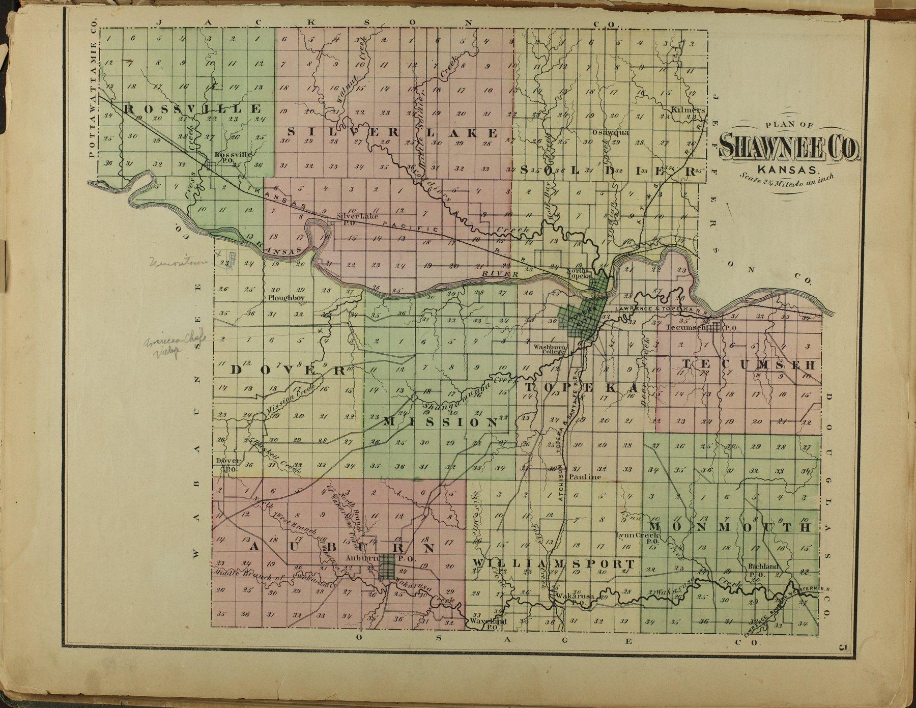 Atlas of Shawnee County, Kansas - 5