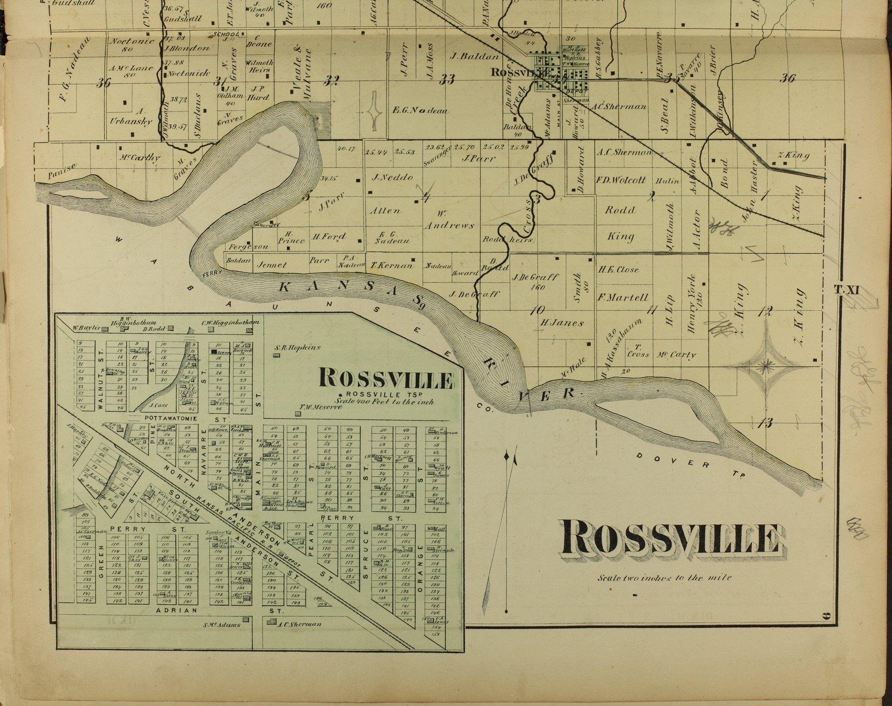 Atlas of Shawnee County, Kansas - 9