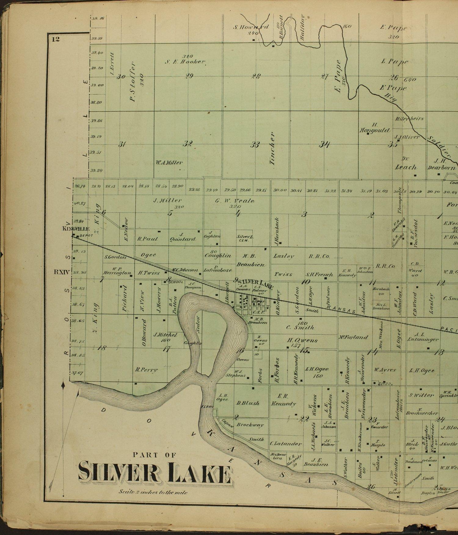 Atlas of Shawnee County, Kansas - 12
