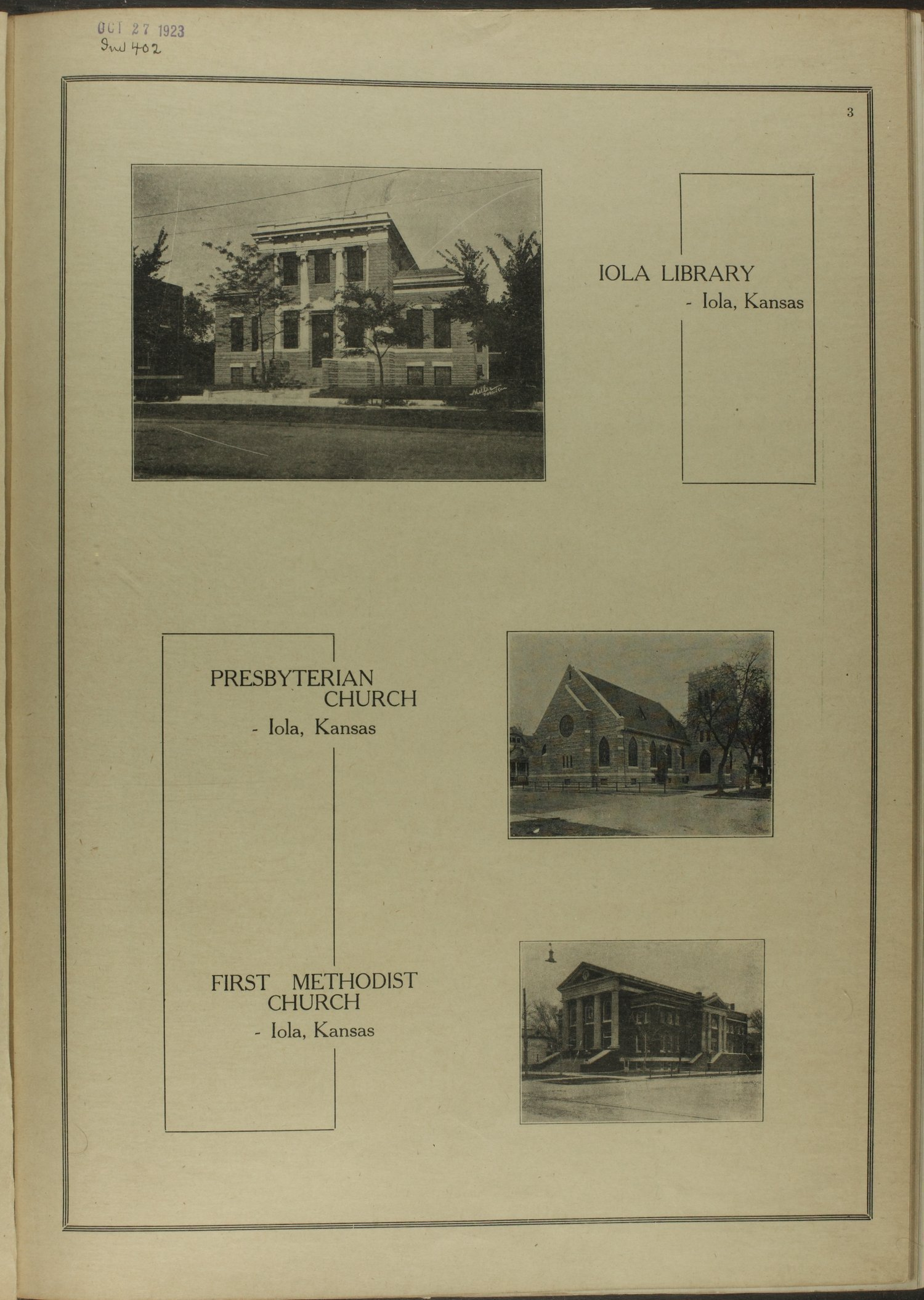 Atlas and plat book of Allen County, Kansas - 3