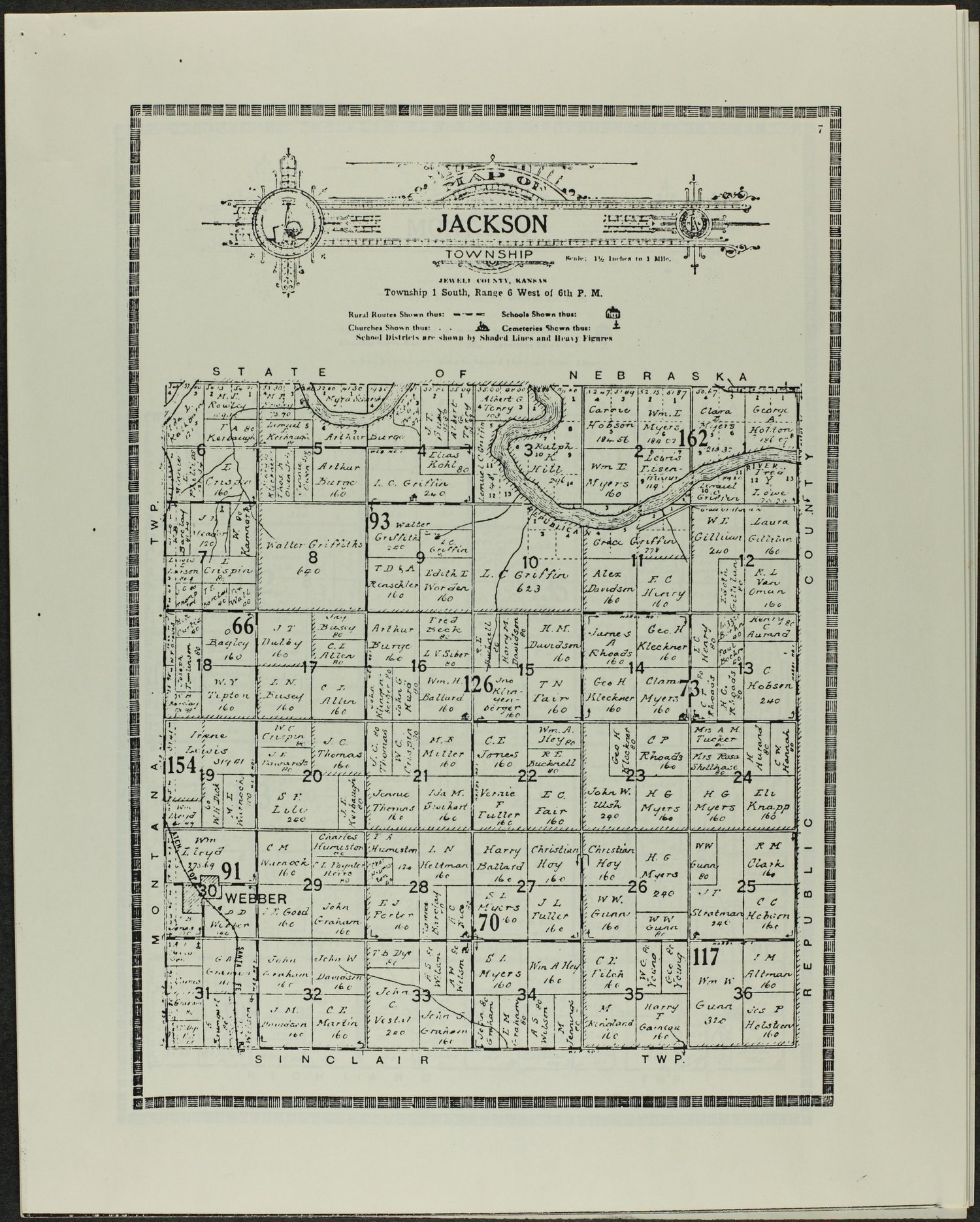 Atlas and plat book of Jewell County, Kansas - 7