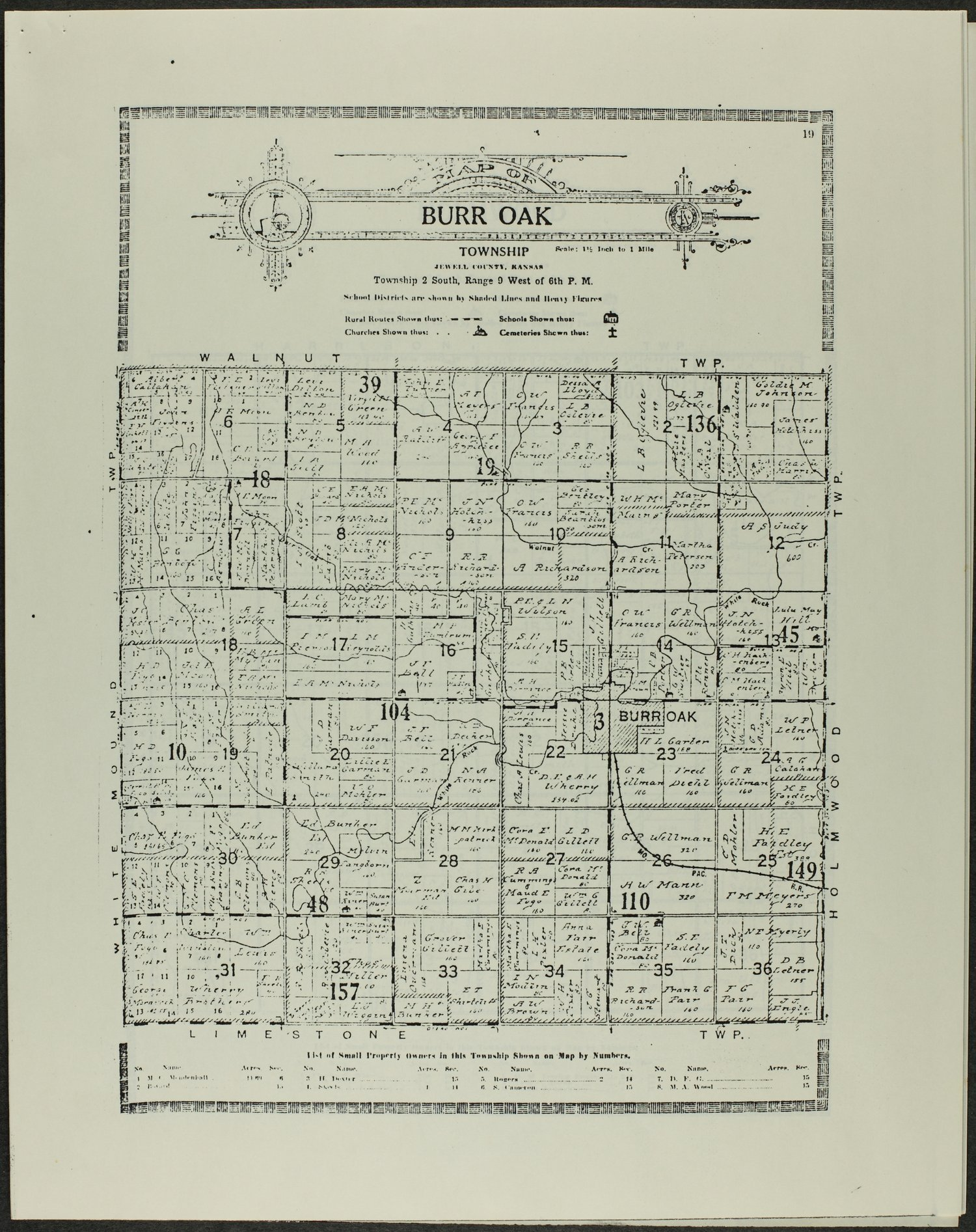 Atlas and plat book of Jewell County, Kansas - 19
