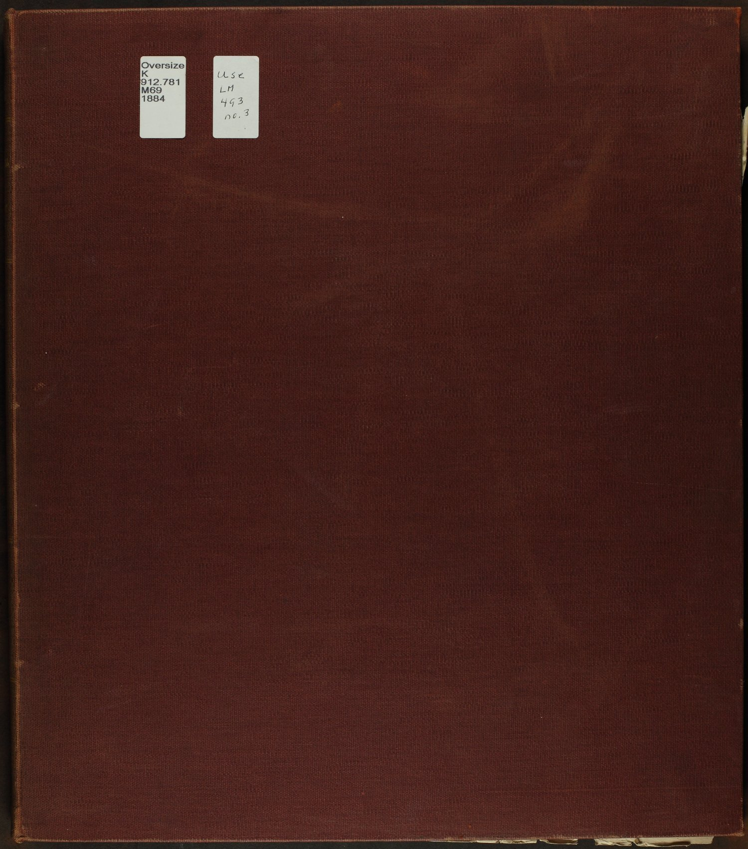 Atlas of Mitchell County, Kansas - Front Cover