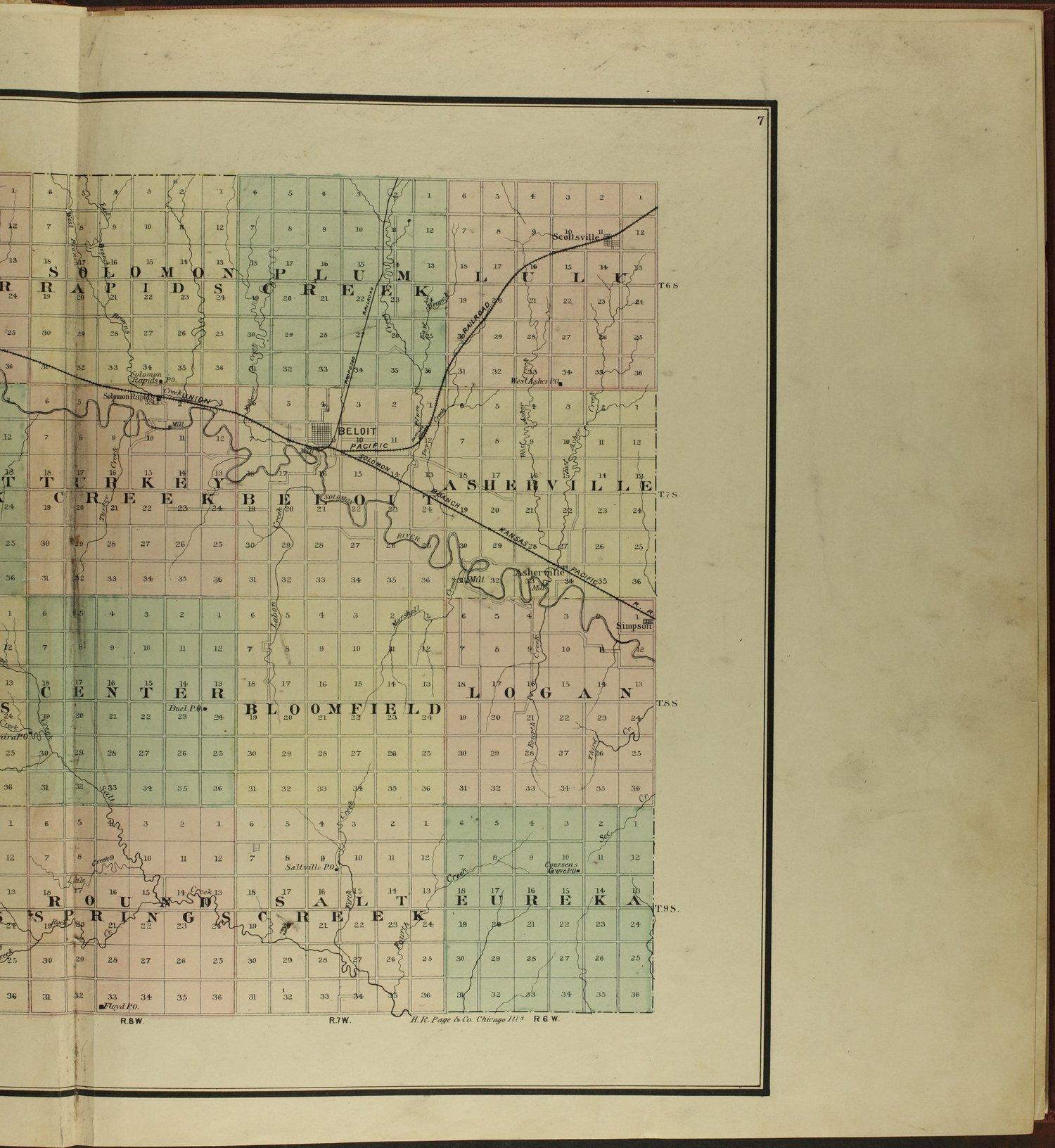 Atlas of Mitchell County, Kansas - 7