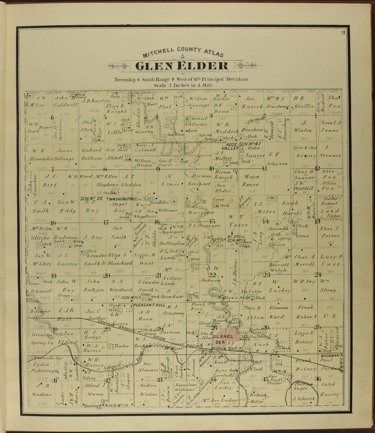 Atlas of Mitchell County, Kansas - 11