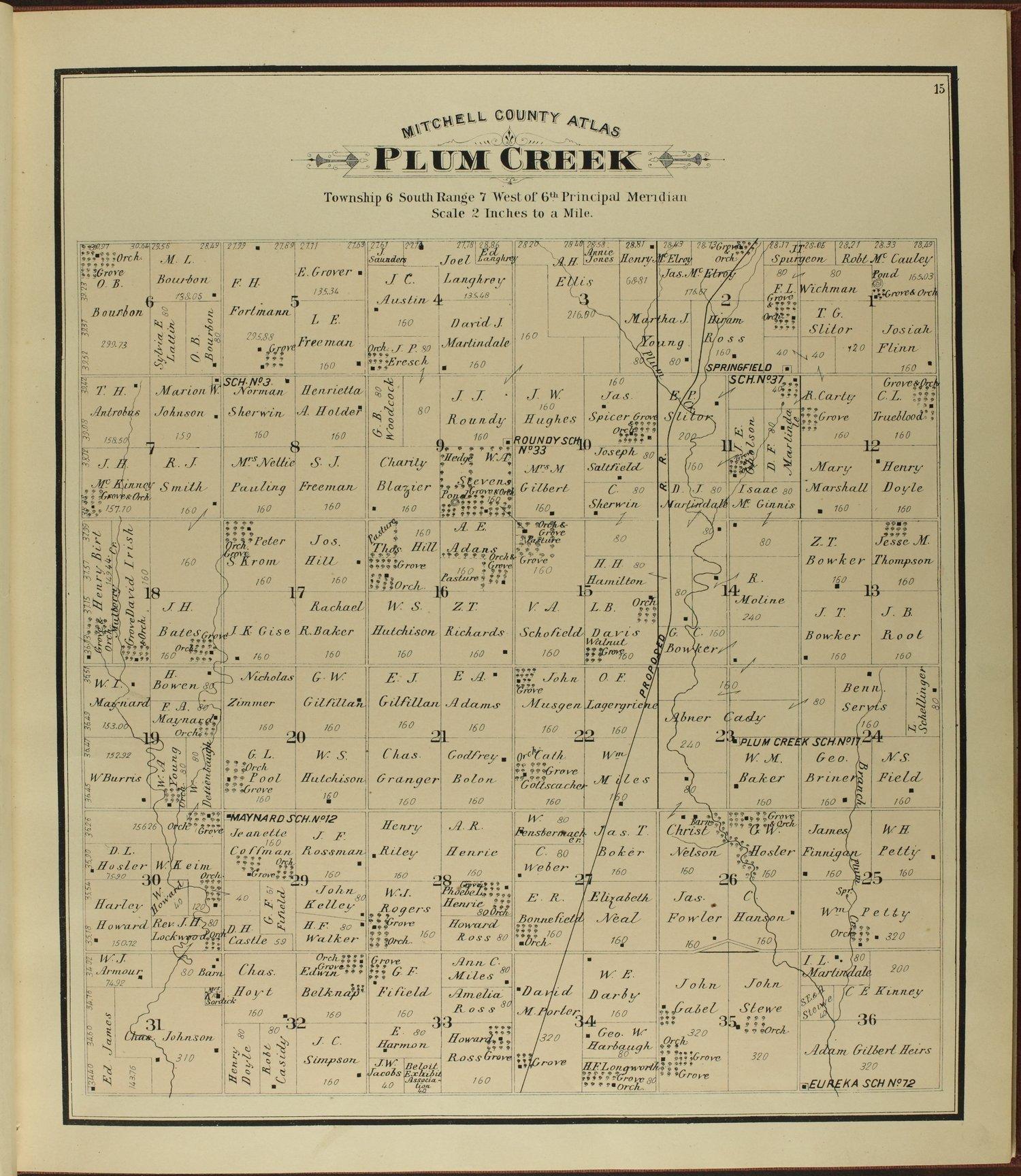 Atlas of Mitchell County, Kansas - 15