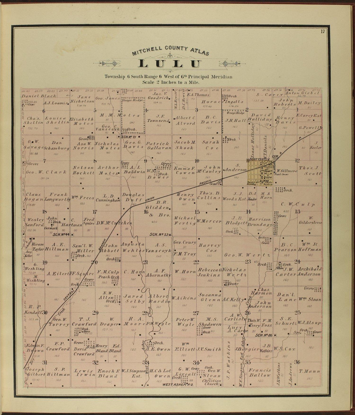 Atlas of Mitchell County, Kansas - 17