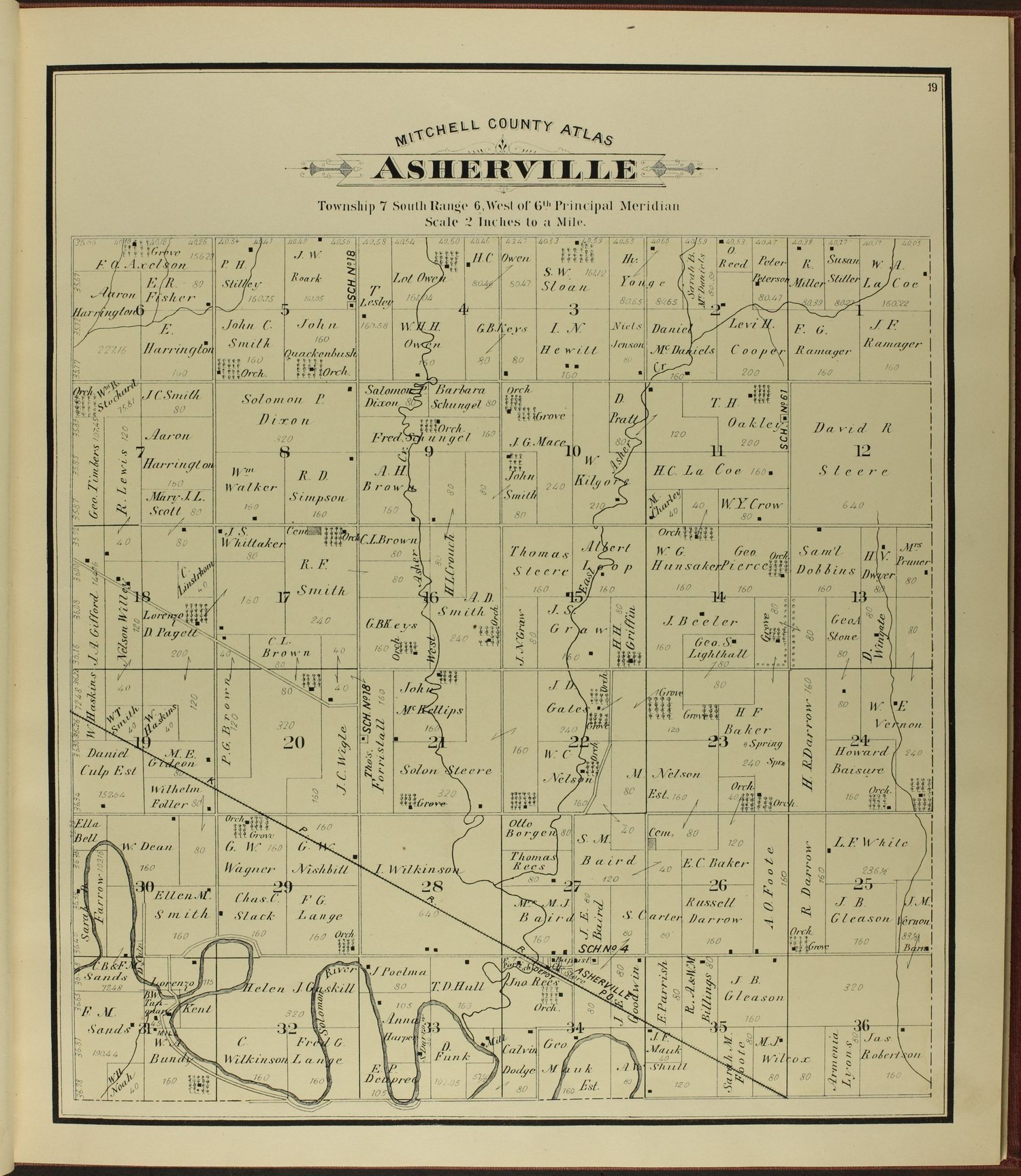 Atlas of Mitchell County, Kansas - 19