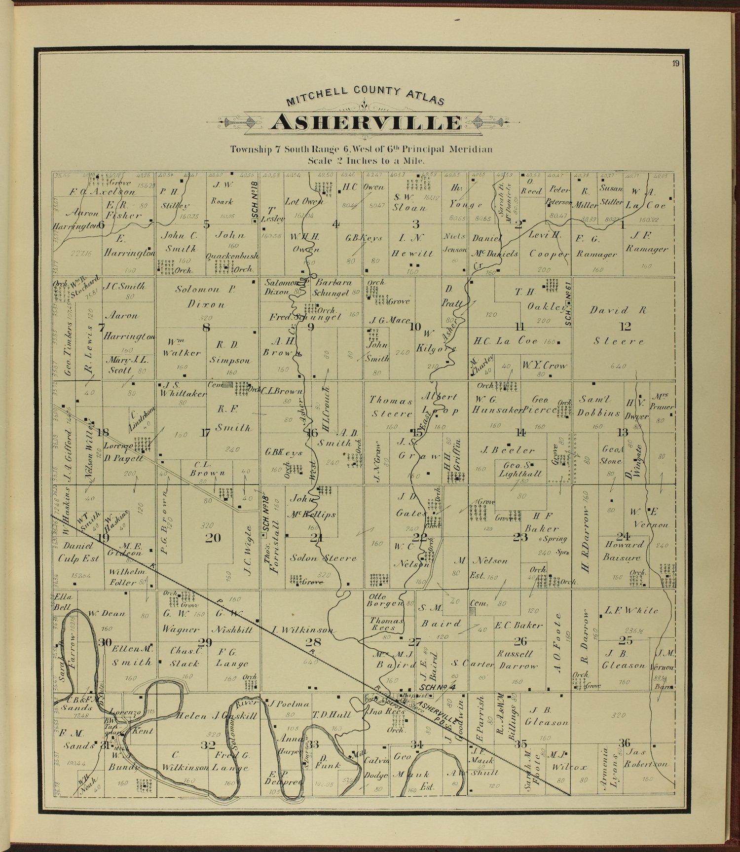 Atlas of Mitchell County, Kansas - 19