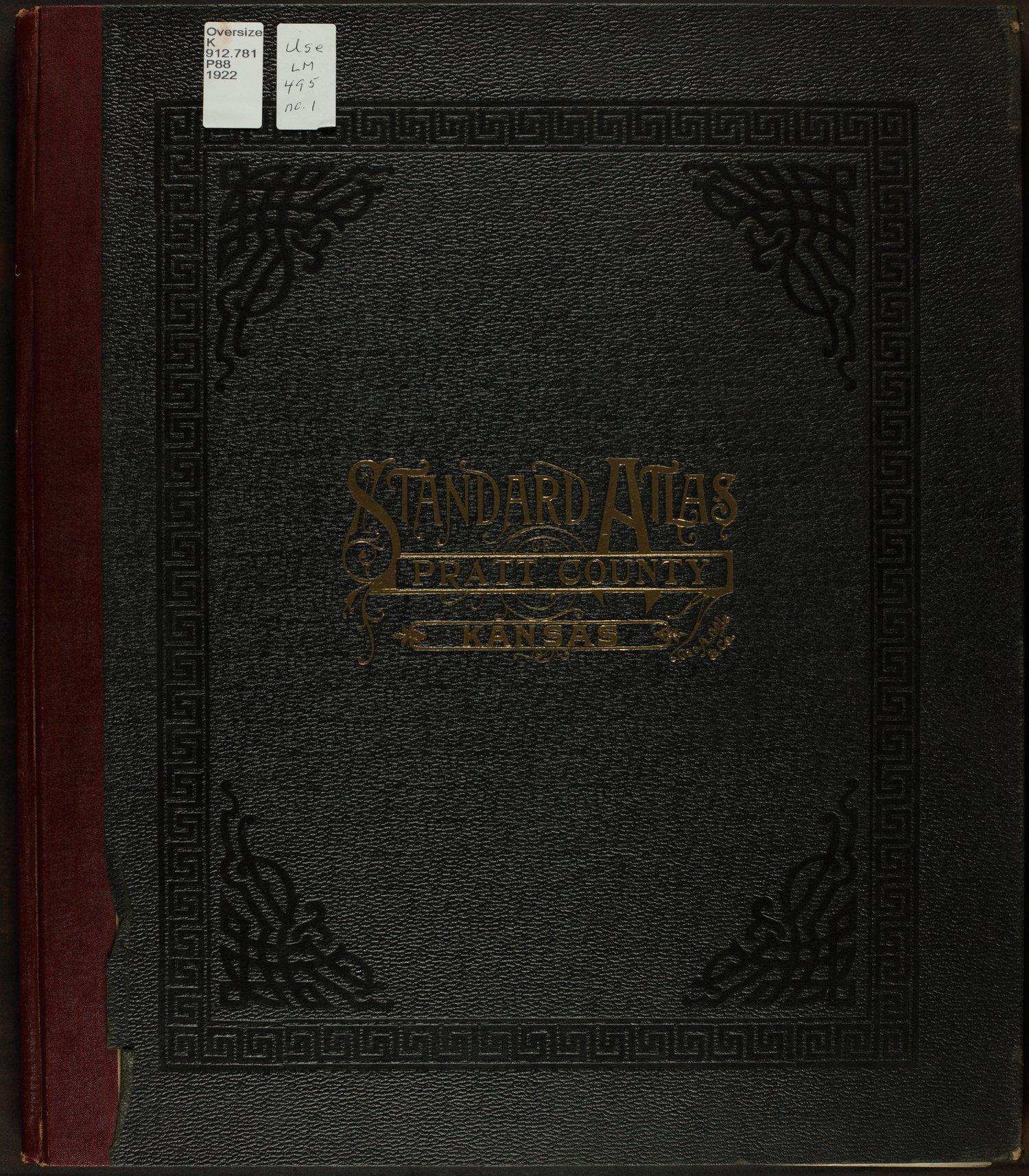 Standard atlas of Pratt County, Kansas - Front Cover