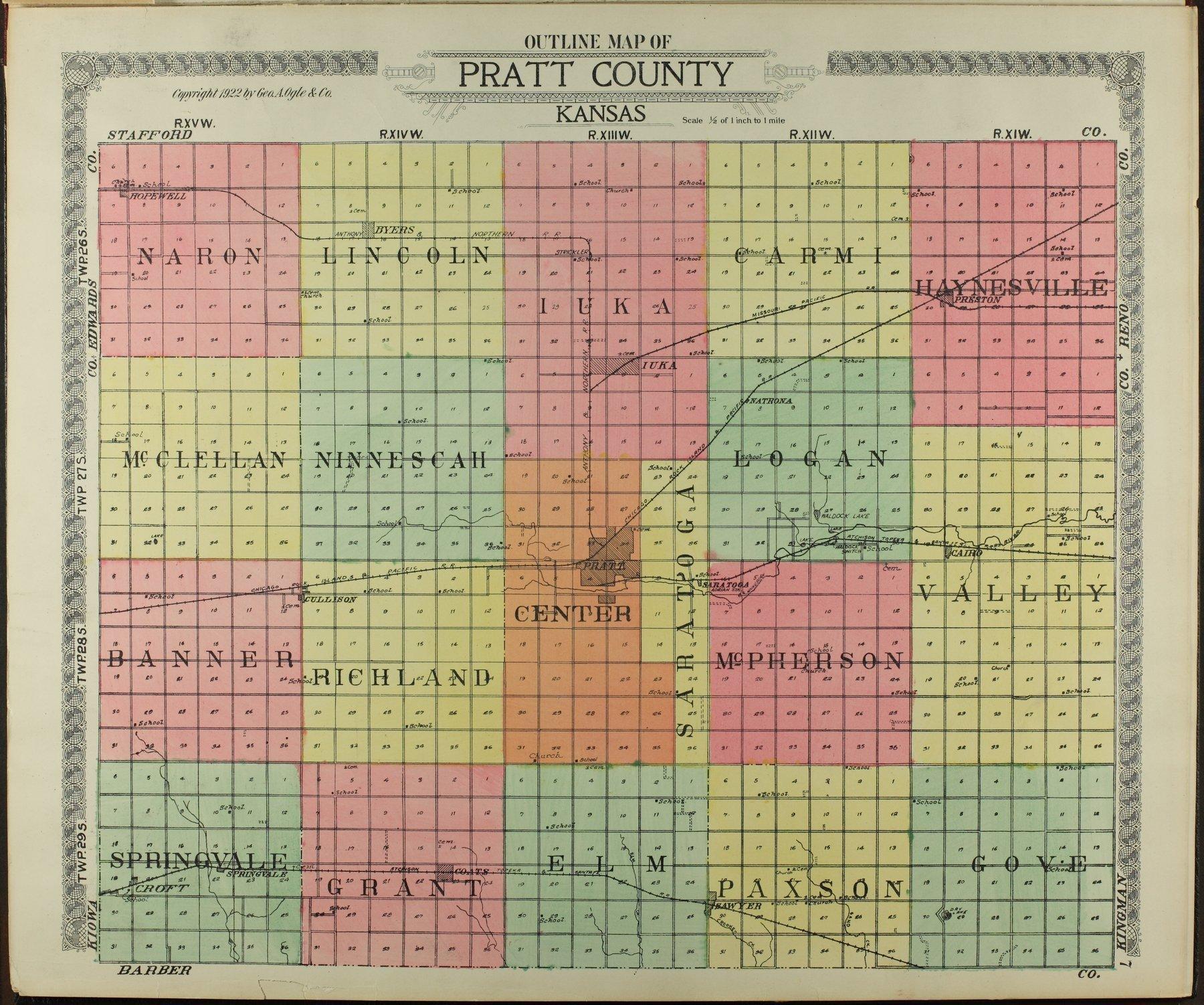 Standard atlas of Pratt County, Kansas - 7