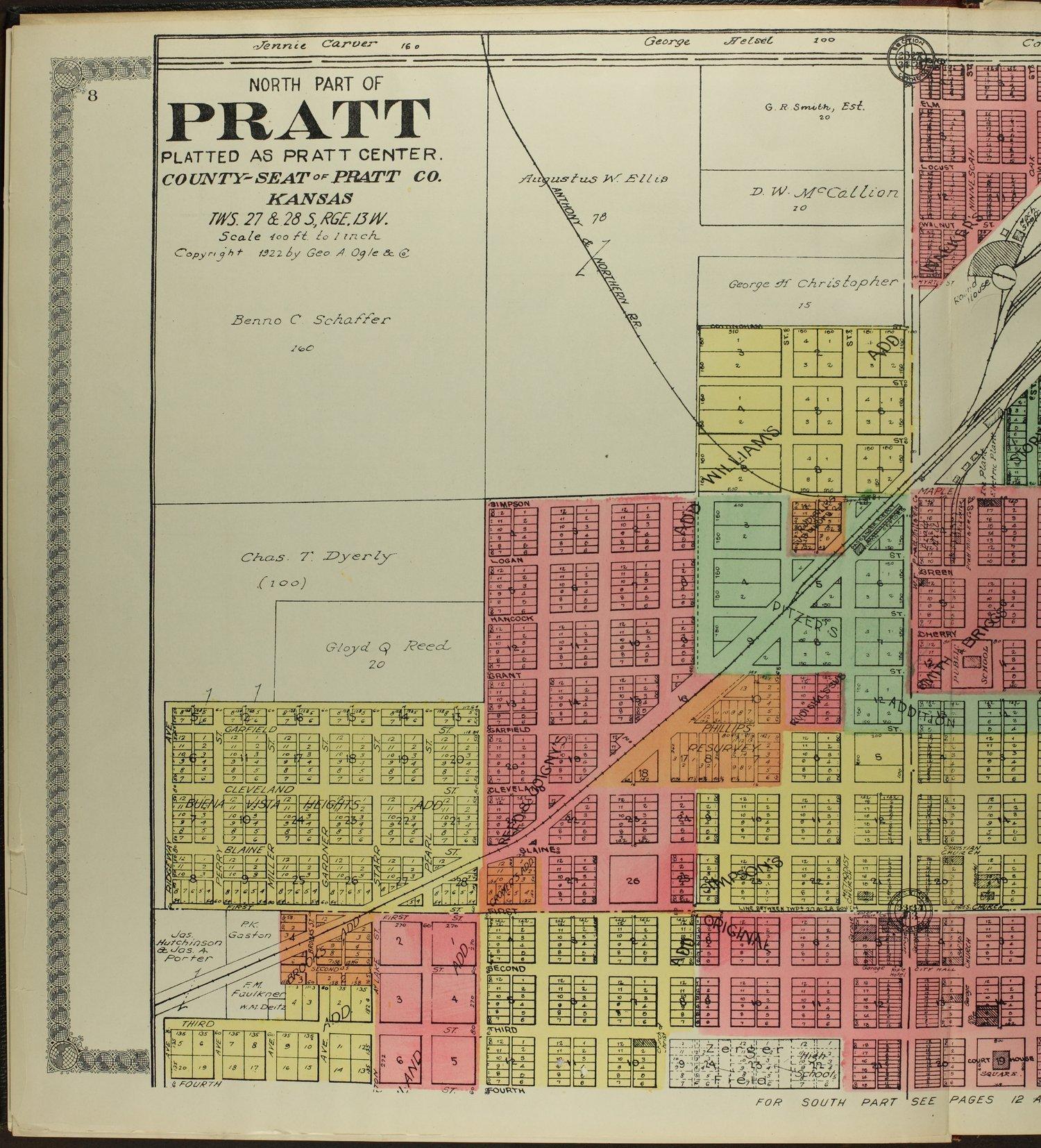 Standard atlas of Pratt County, Kansas - 9