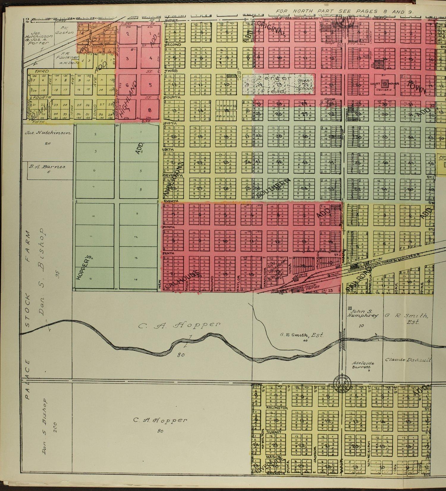 Standard atlas of Pratt County, Kansas - 12