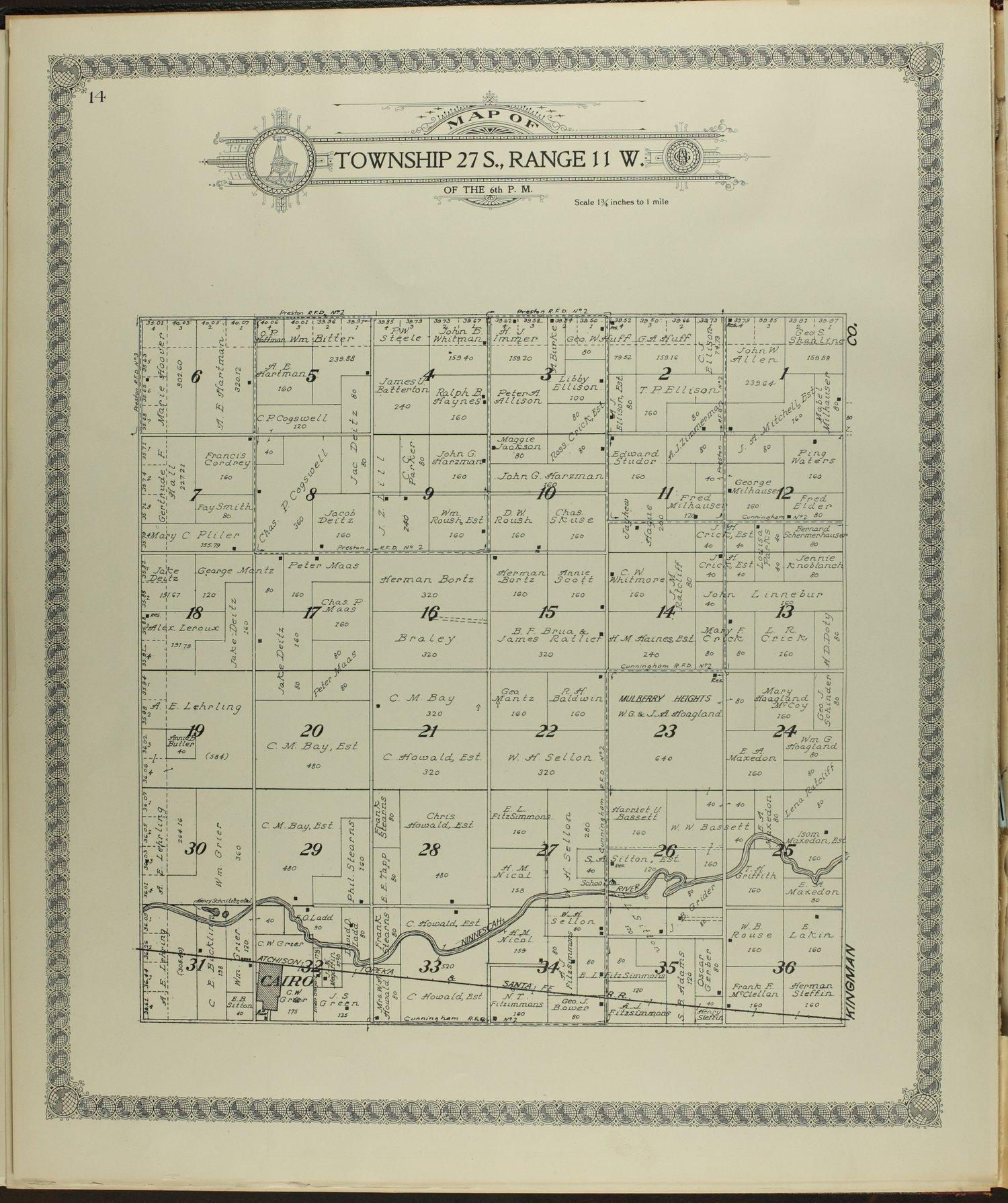 Standard atlas of Pratt County, Kansas - 14