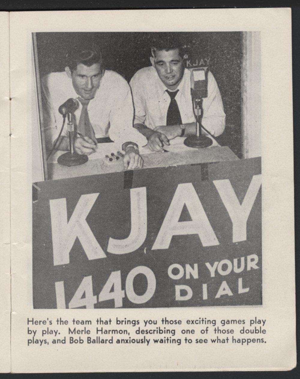Meet your baseball players on KJAY - 3