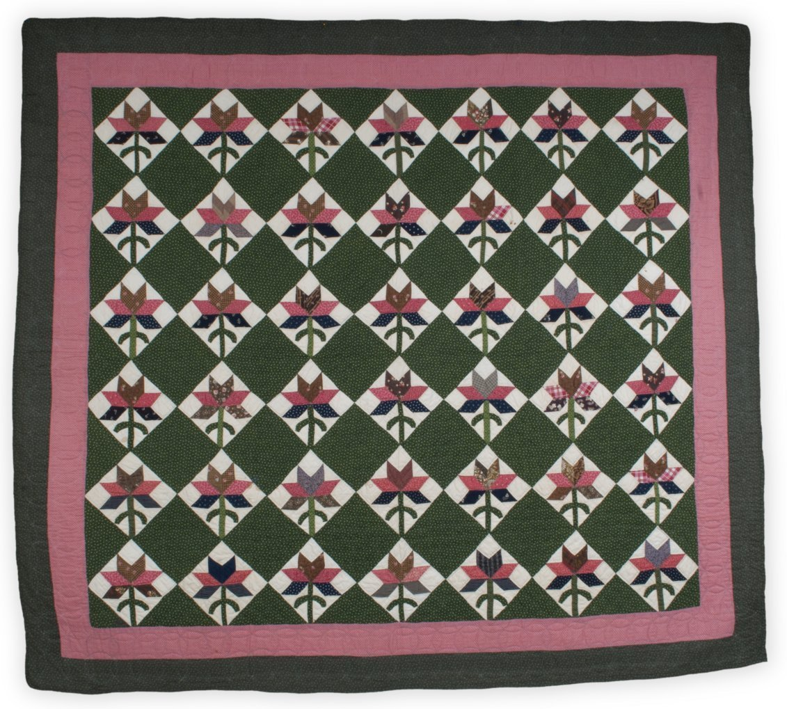 Tea Leaf or Single Lily quilt