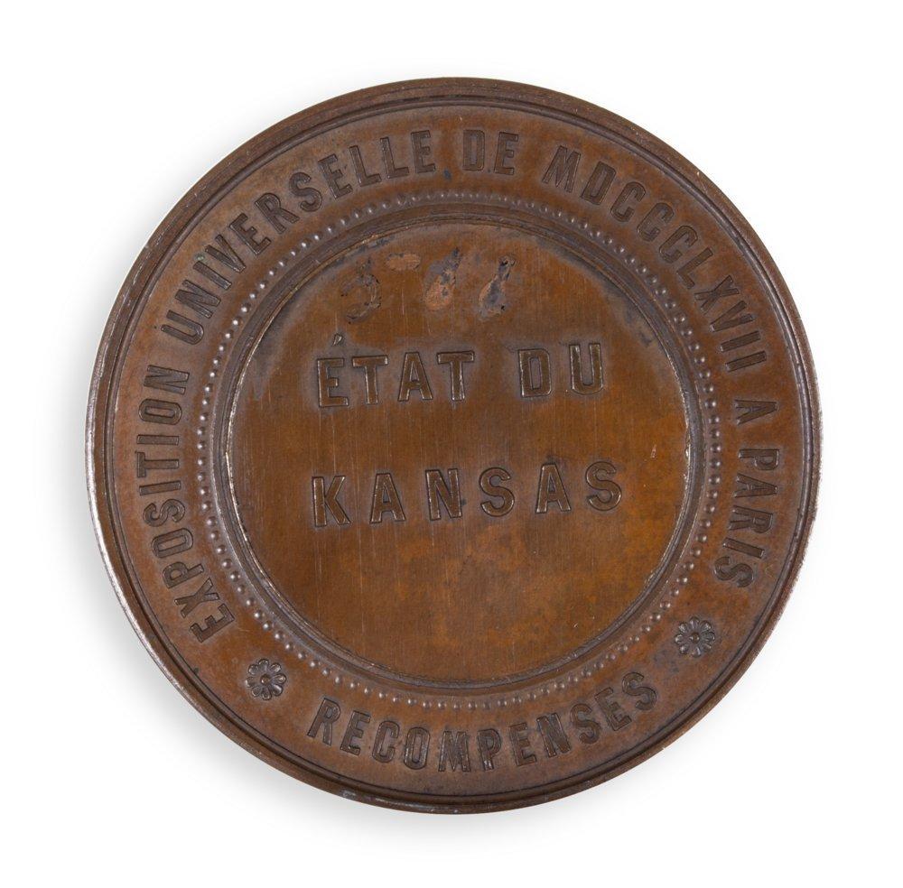 Bronze Napoleon III medal - 2