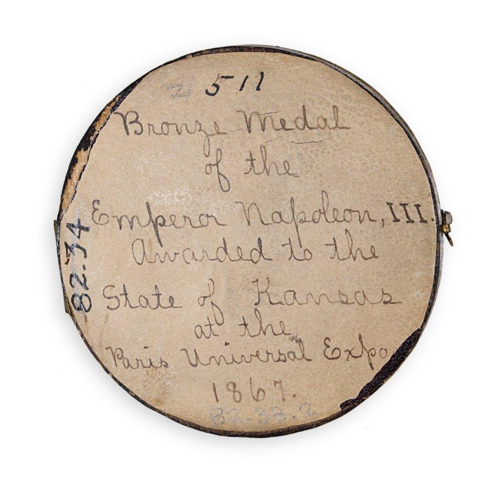 Bronze Napoleon III medal - 4
