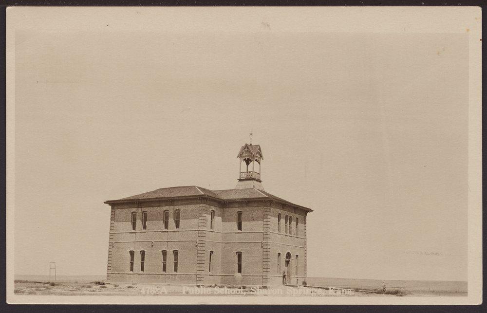 Schoolhouse, Sharon Springs, Kansas - 1