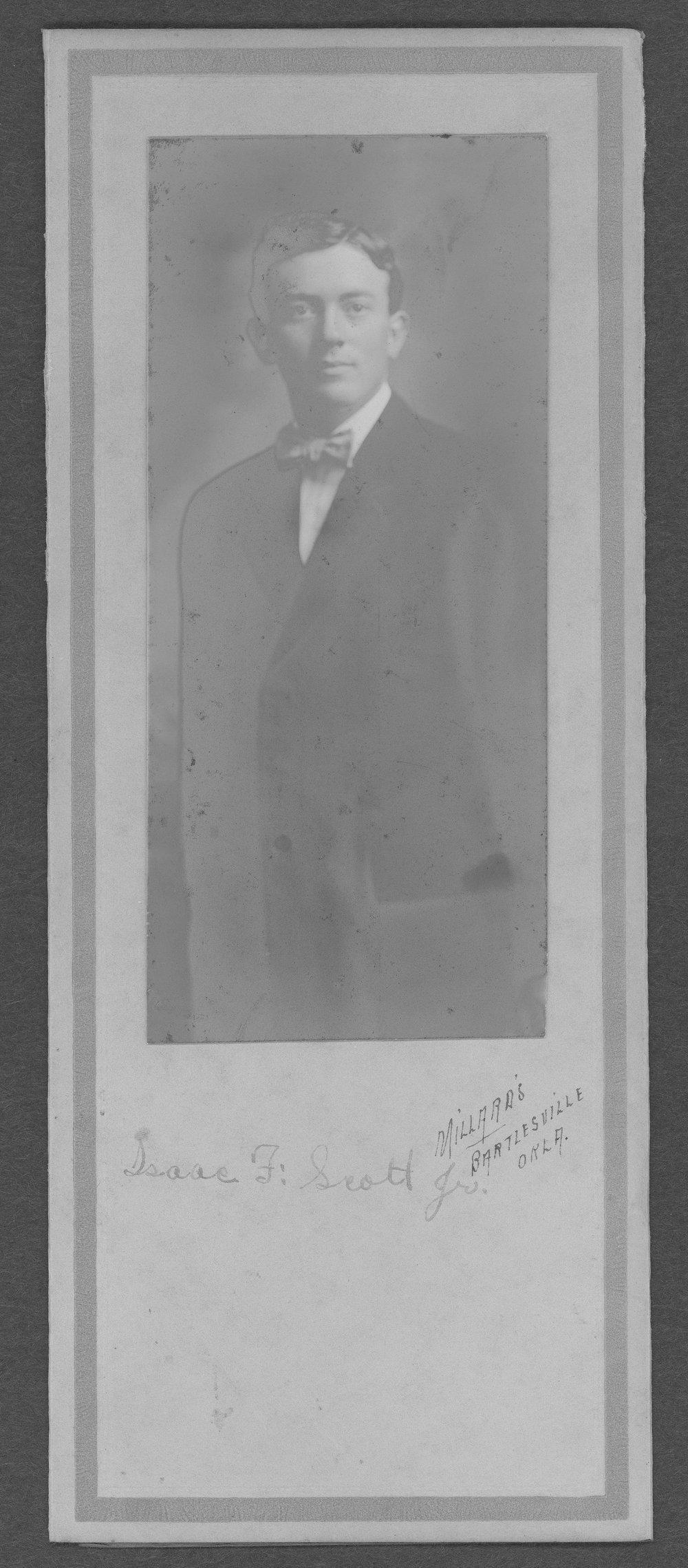 Isaac Frantz Scott, World War I soldier - 2