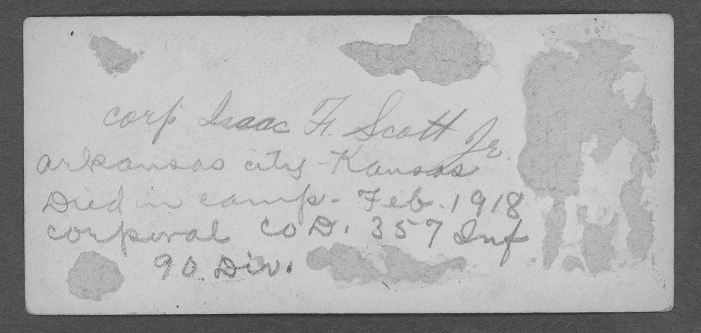 Isaac Frantz Scott, World War I soldier - 6