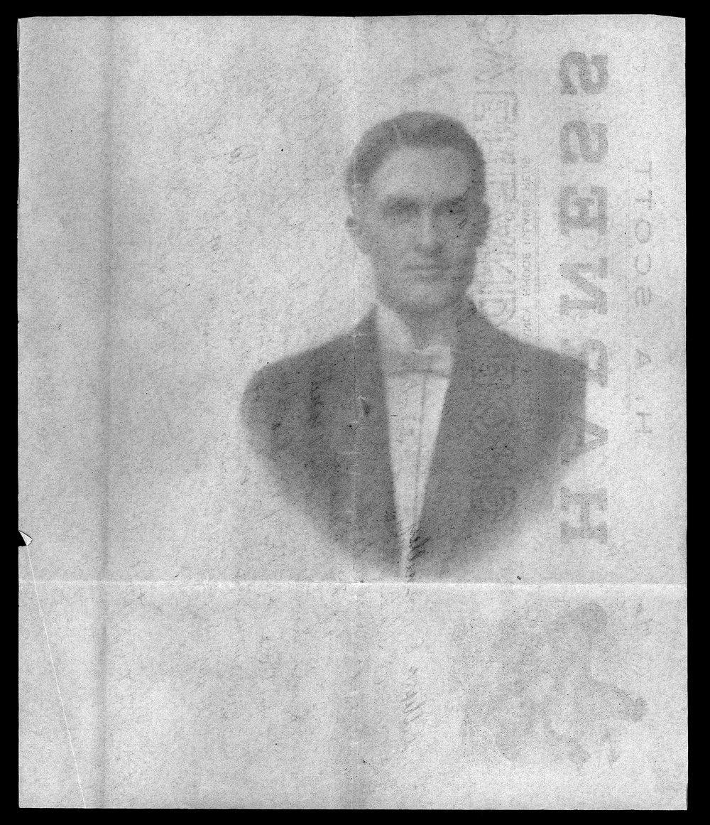 Dr. J.E. Scott, World War I soldier - 3