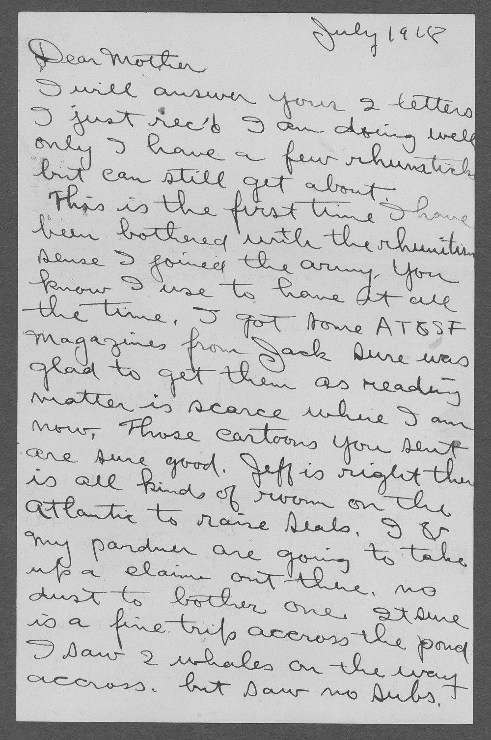 Heise Henry Sebree, World War I soldier - 10