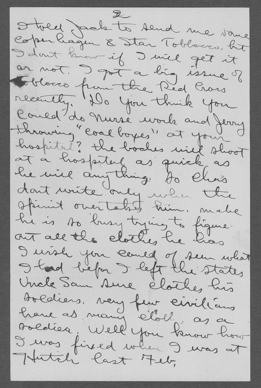Heise Henry Sebree, World War I soldier - 11