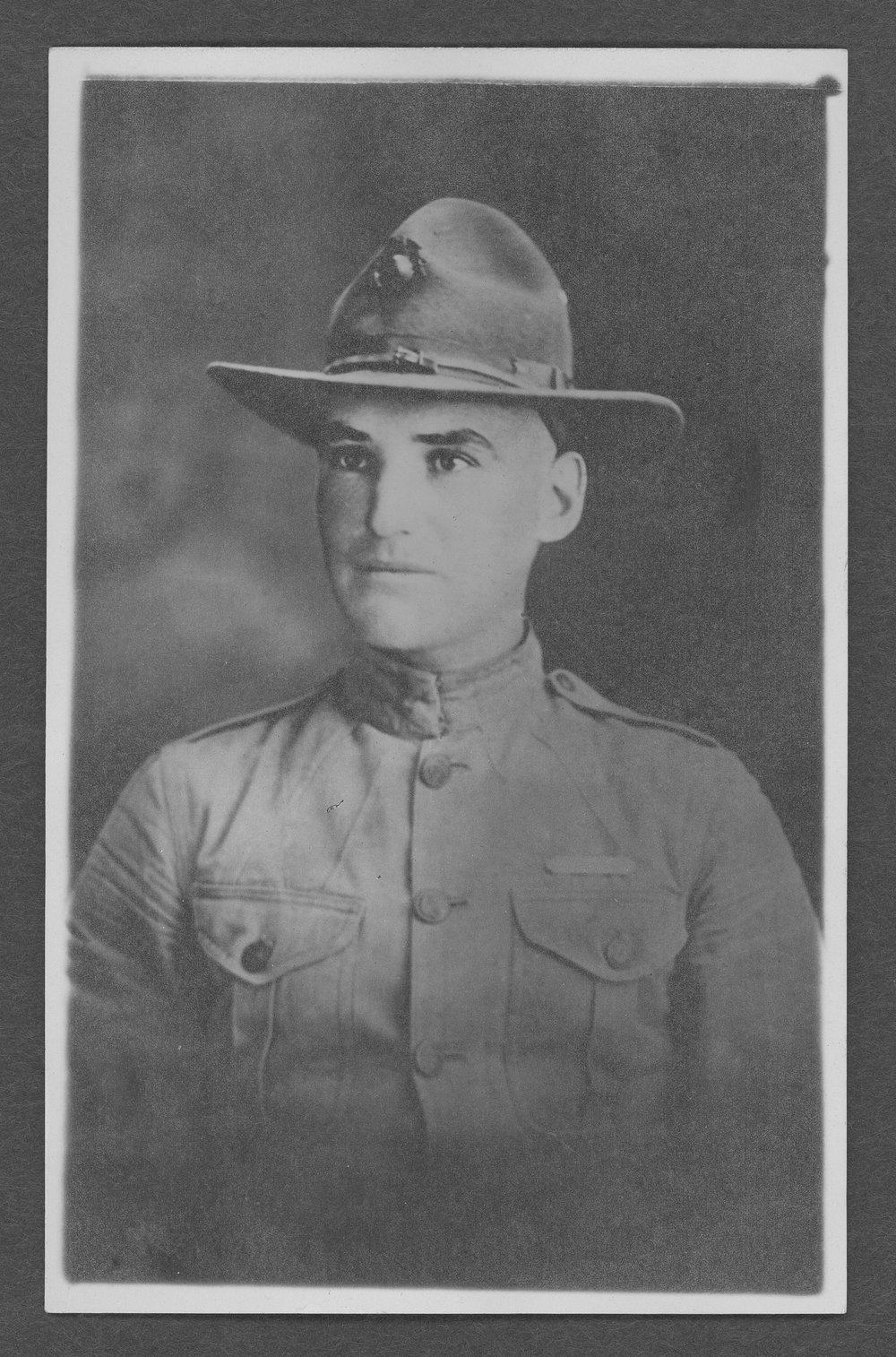 Charles Wilber Selzer, World War I soldier - 1