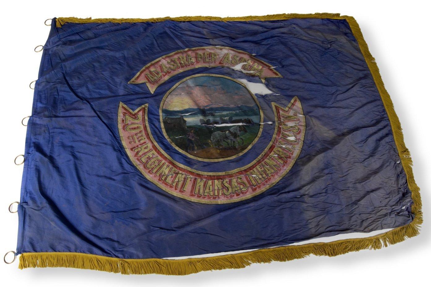20th Kansas Volunteer Infantry flag