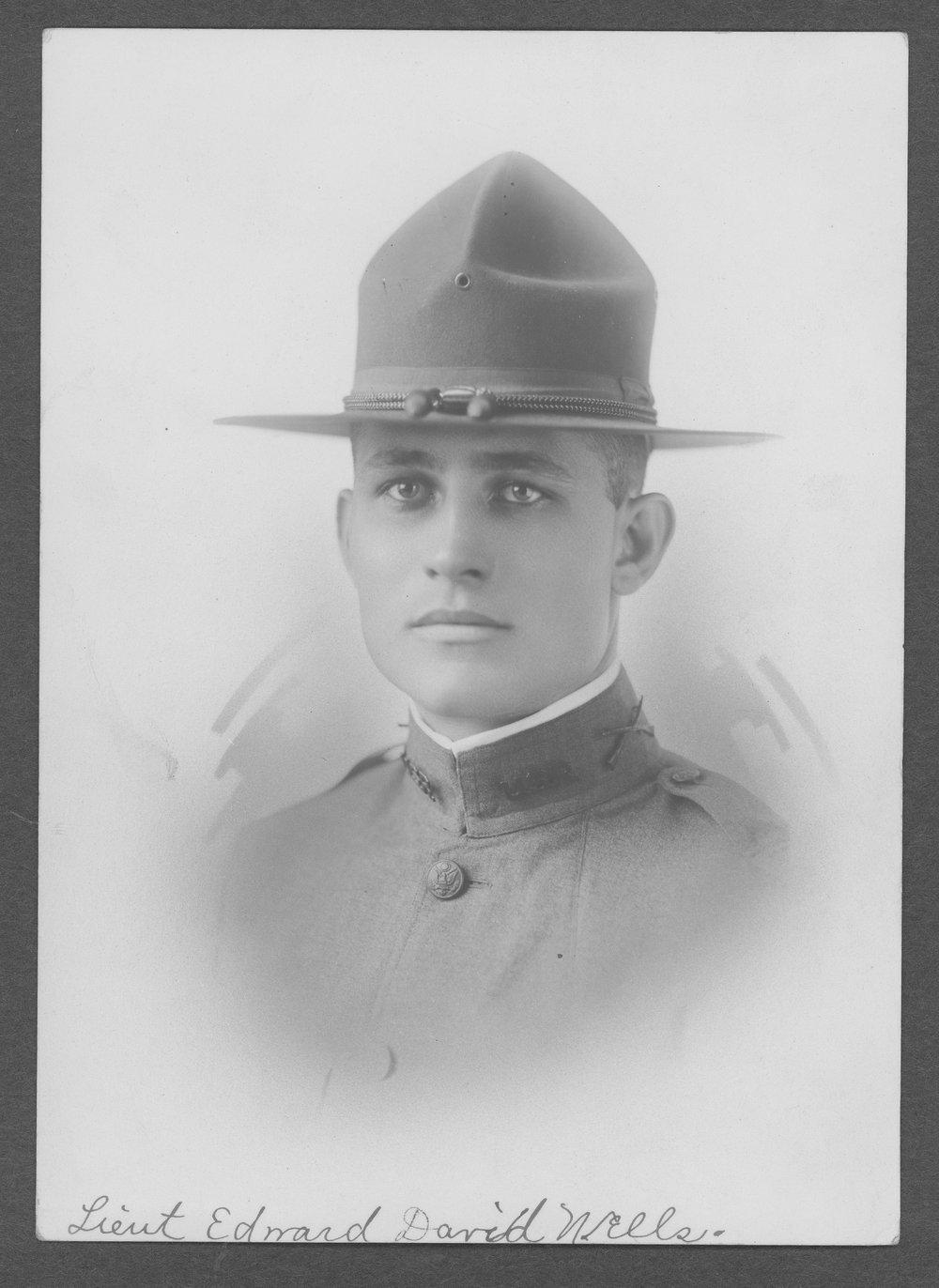 Edward David Wells, World War I soldier - 1