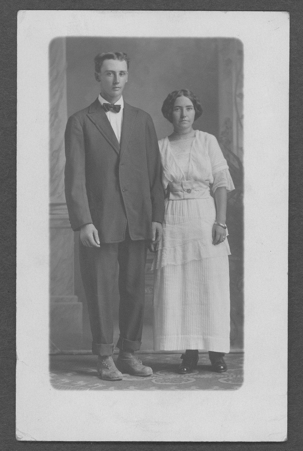 Clayton Burr West, World War I soldier - 1