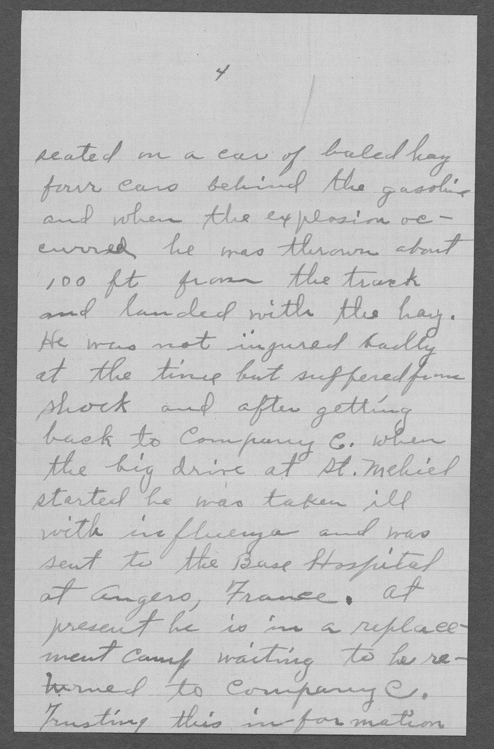 Harrison M. West, World War I soldier - 6