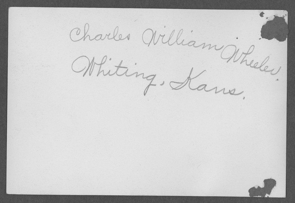 William Charles Wheeler, World War I soldier - 2