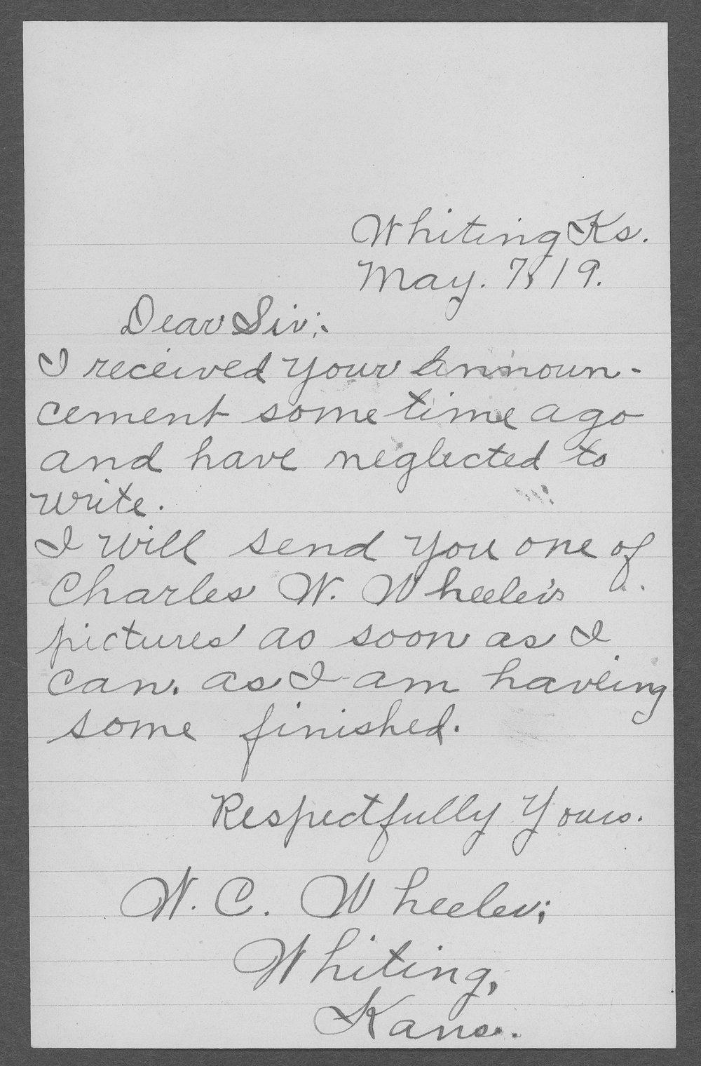 William Charles Wheeler, World War I soldier - 4