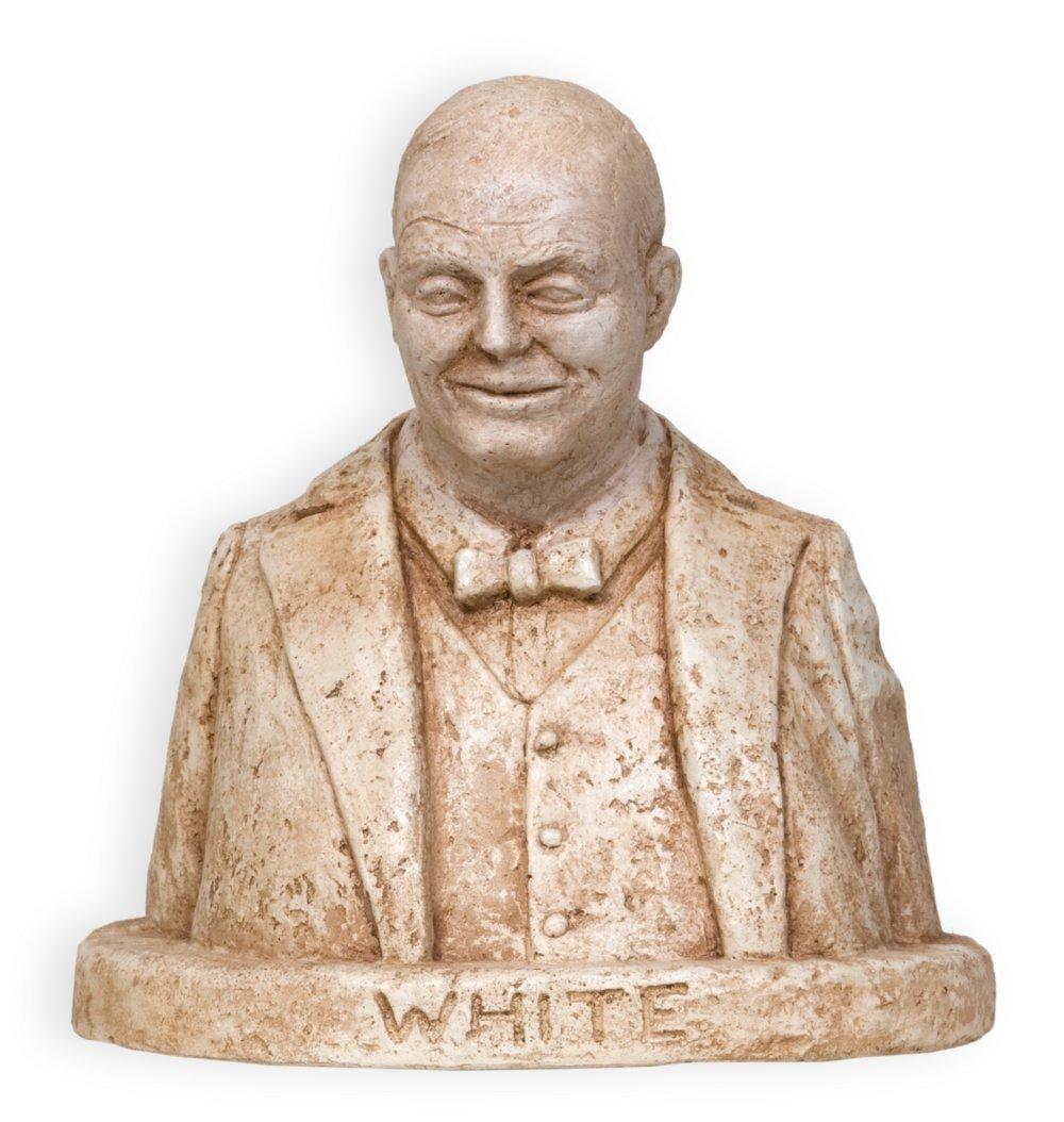 William Allen White sculpture