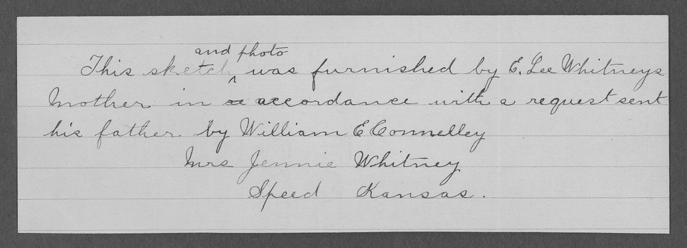 Edward Lee Whitney, World War I soldier - 3
