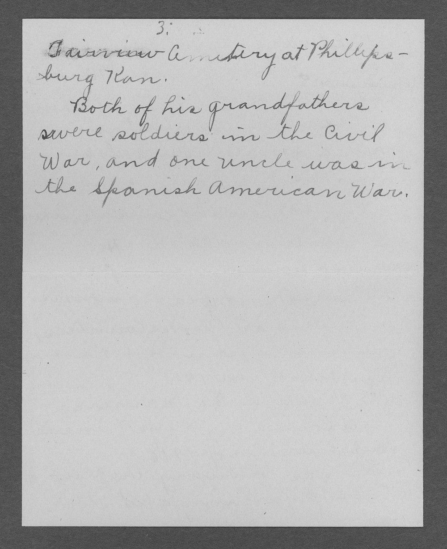 Edward Lee Whitney, World War I soldier - 7