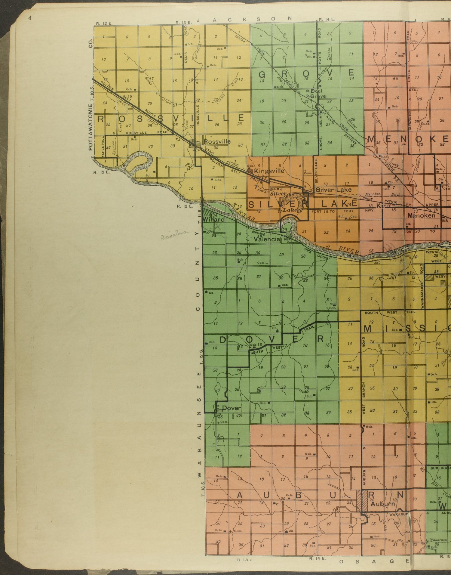 Atlas and plat book of Shawnee County, Kansas - 4