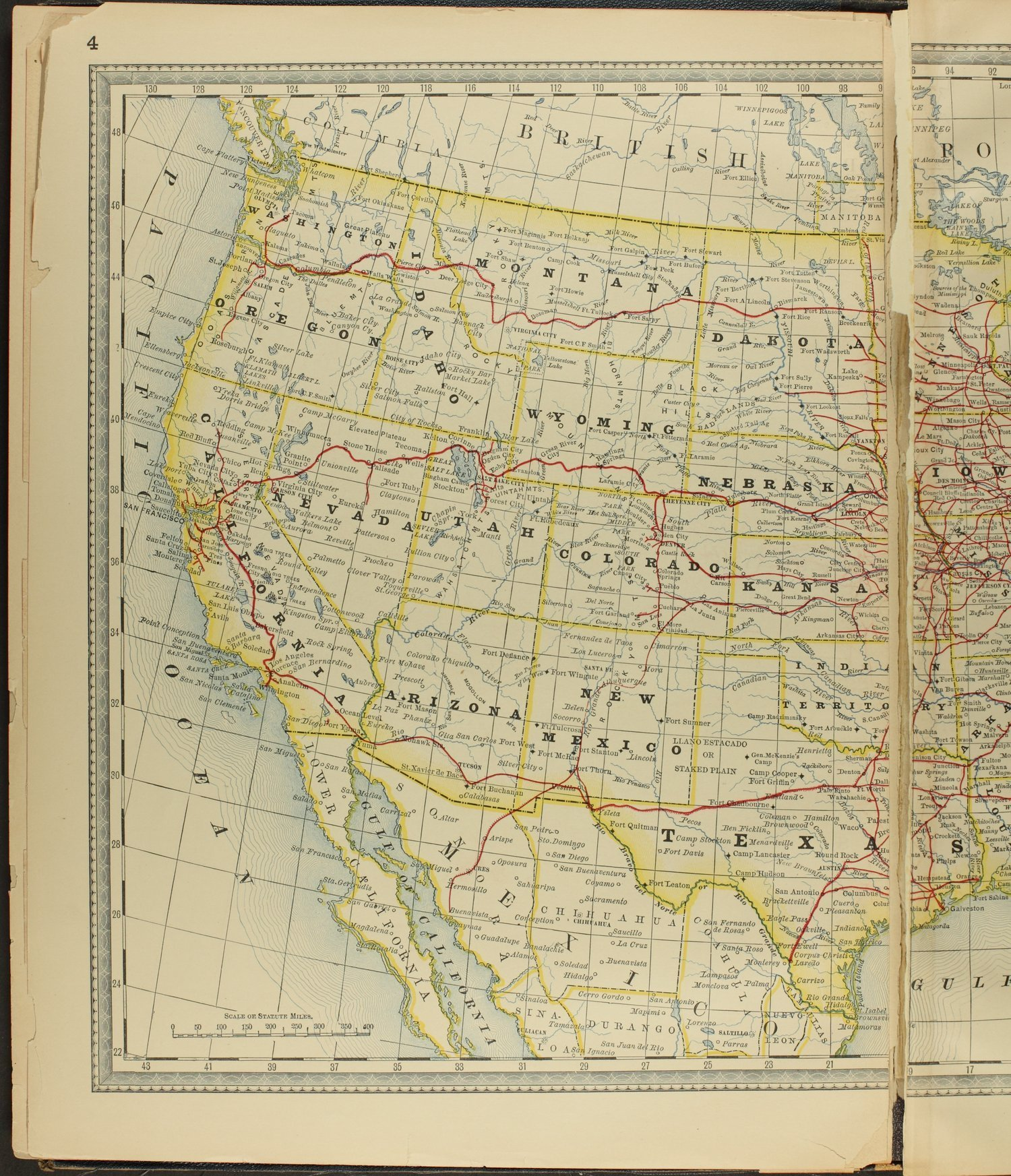 Historical plat book of Clay County, Kansas - Map of the United States